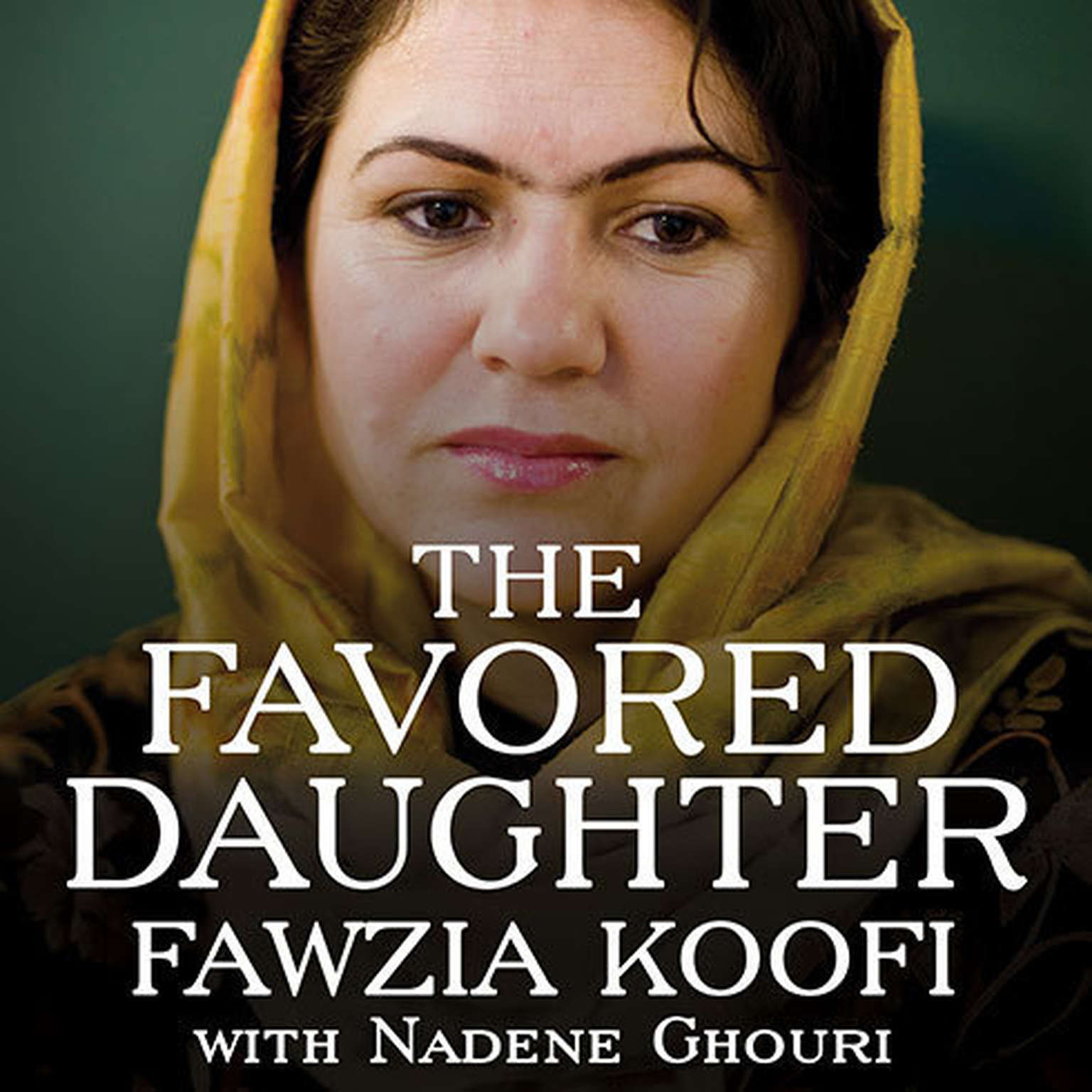 Printable The Favored Daughter: One Woman's Fight to Lead Afghanistan into the Future Audiobook Cover Art