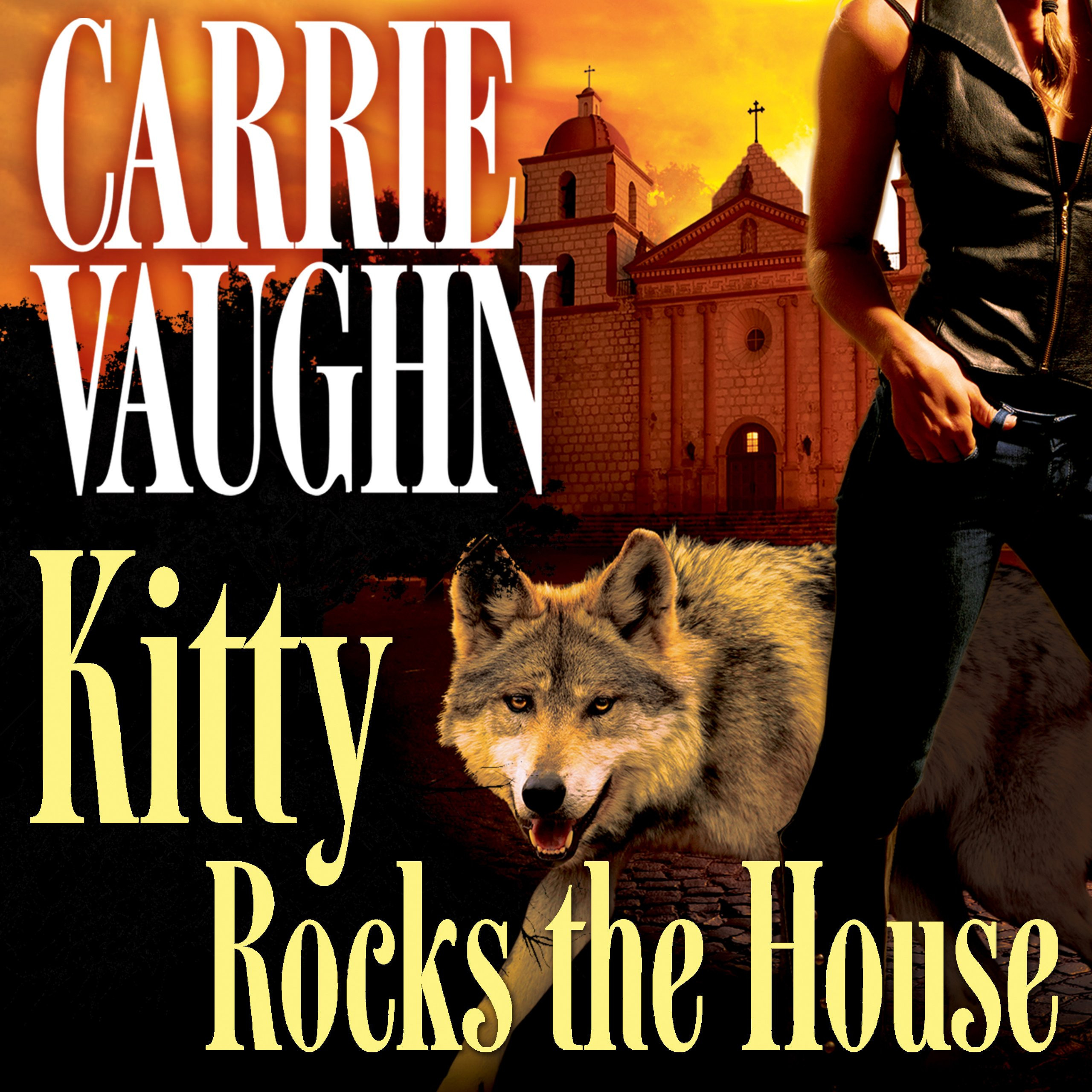 Printable Kitty Rocks the House Audiobook Cover Art