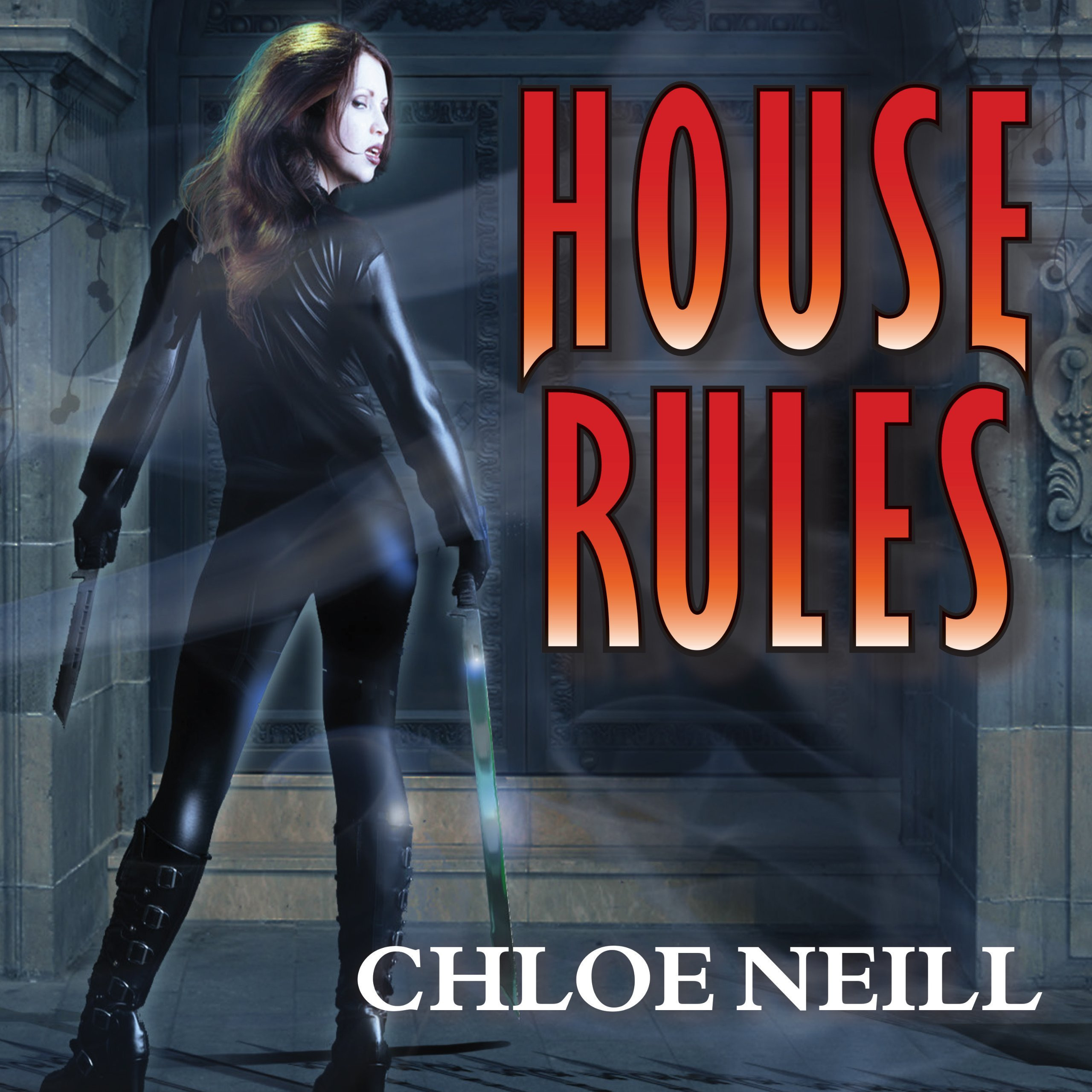 Printable House Rules: A Chicagoland Vampires Novel Audiobook Cover Art