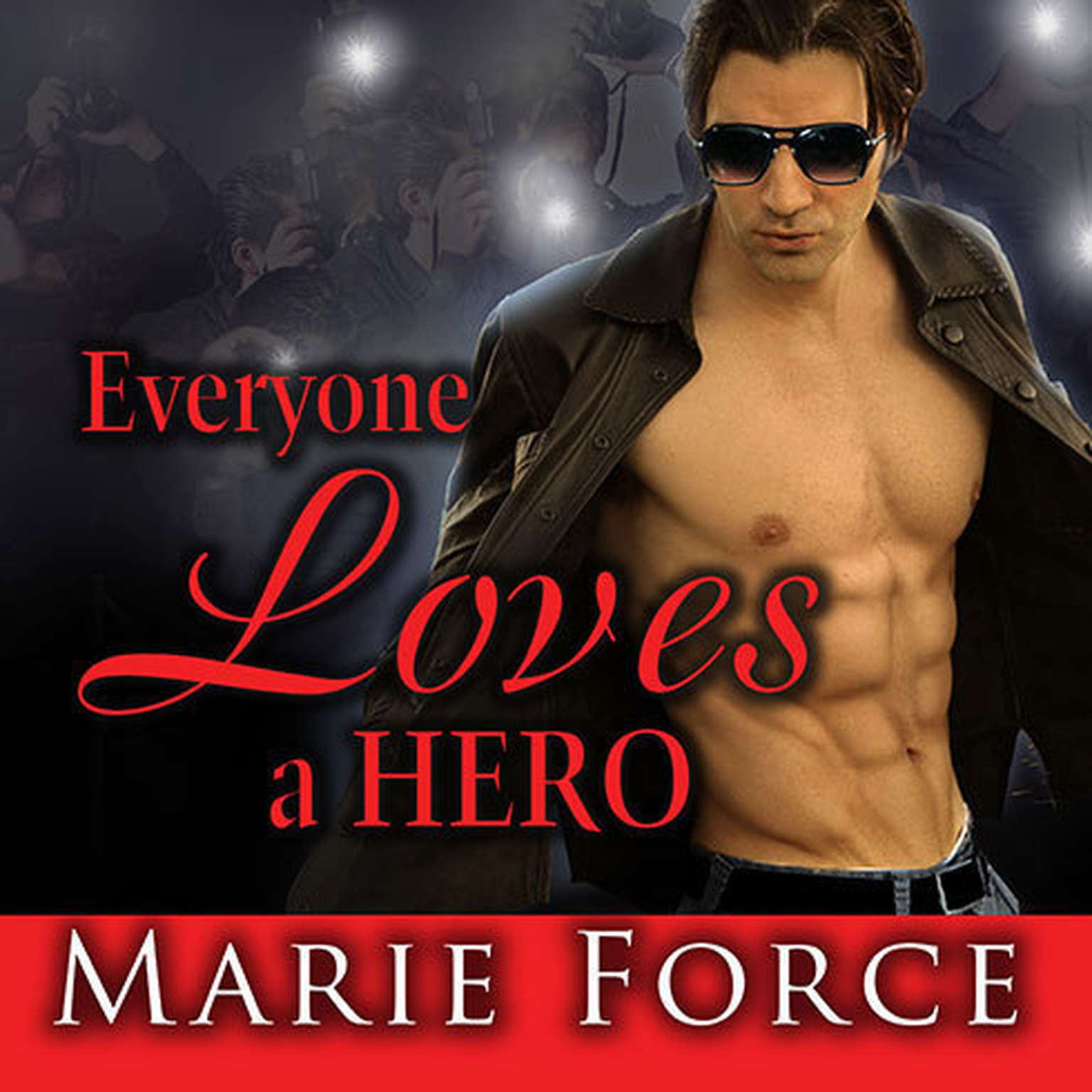 Printable Everyone Loves a Hero: And That's the Problem Audiobook Cover Art