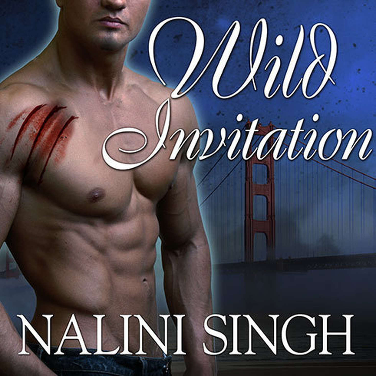 Printable Wild Invitation: A Psy/Changeling Anthology Audiobook Cover Art