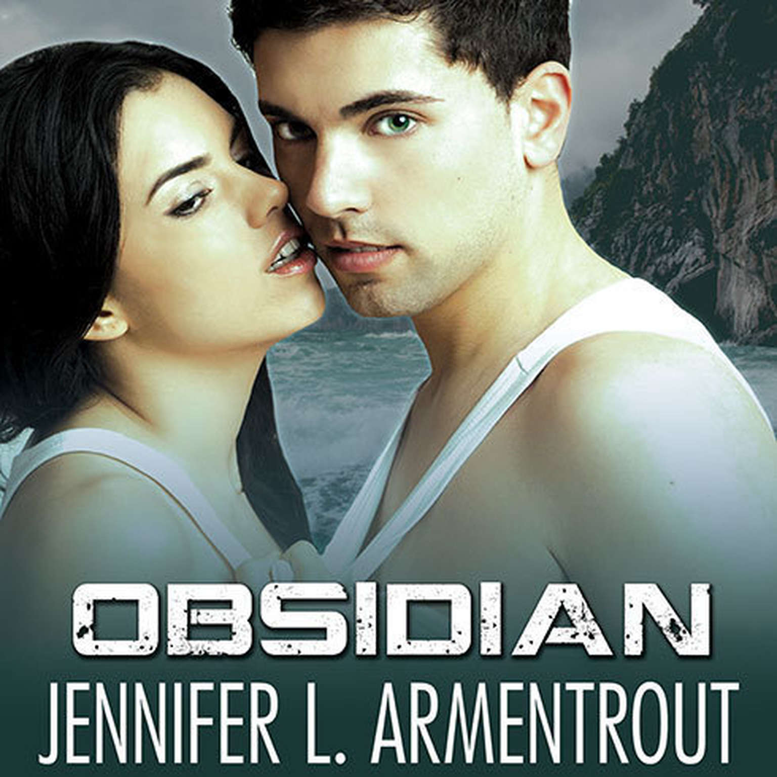 Printable Obsidian: A Lux Novel Audiobook Cover Art
