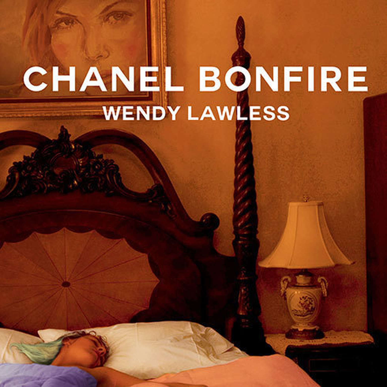 Printable Chanel Bonfire Audiobook Cover Art