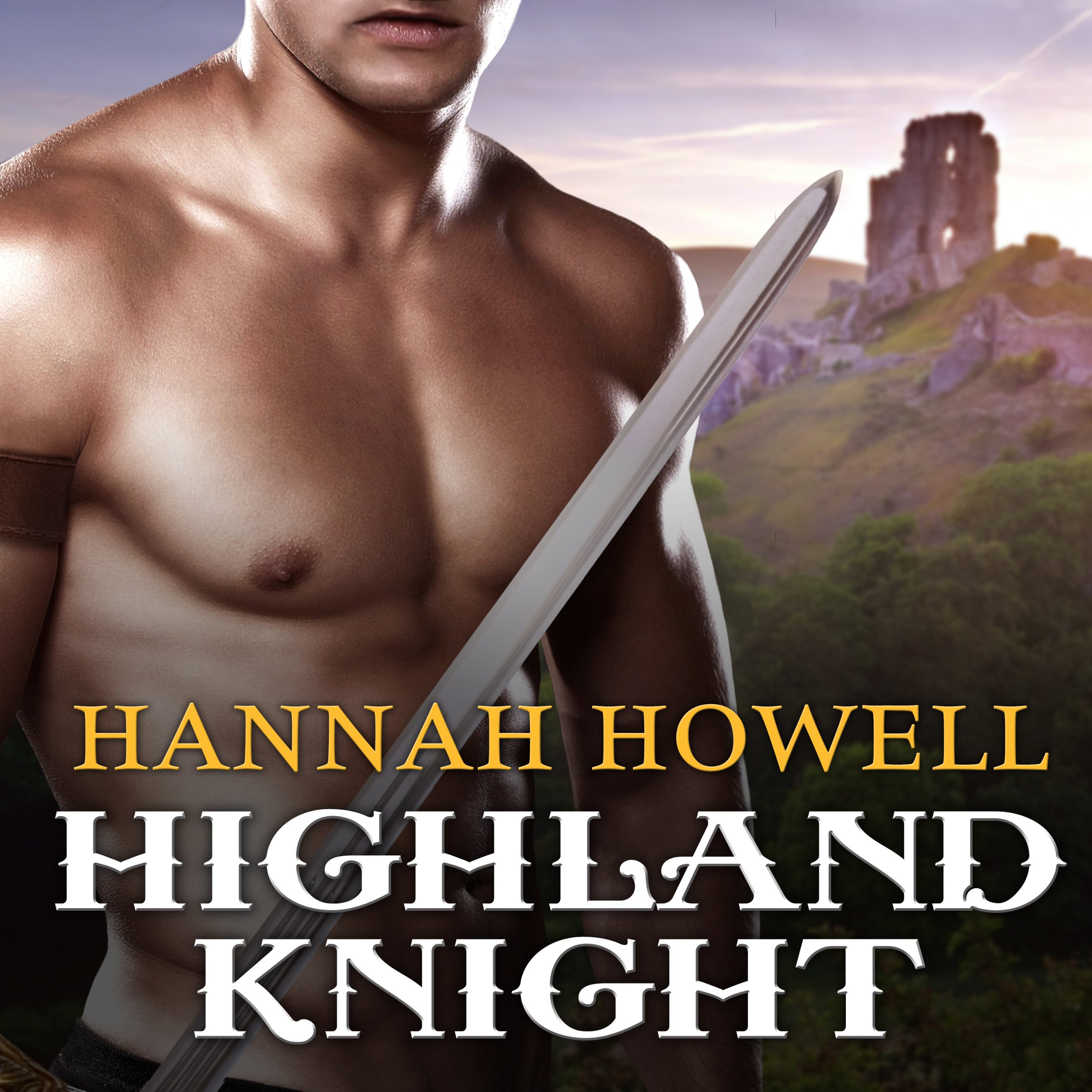 Printable Highland Knight Audiobook Cover Art