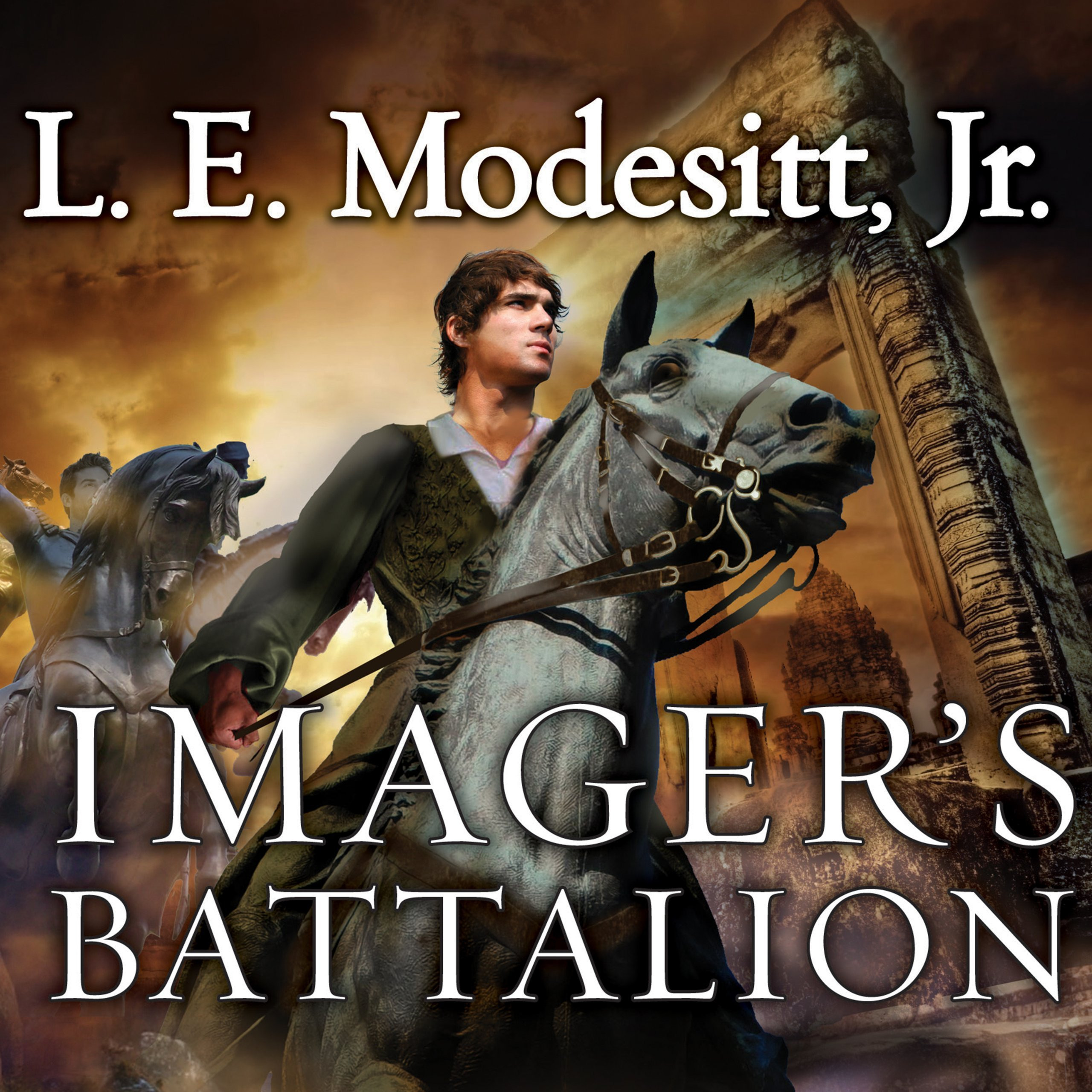 Printable Imager's Battalion: The Sixth Book of the Imager Portfolio Audiobook Cover Art