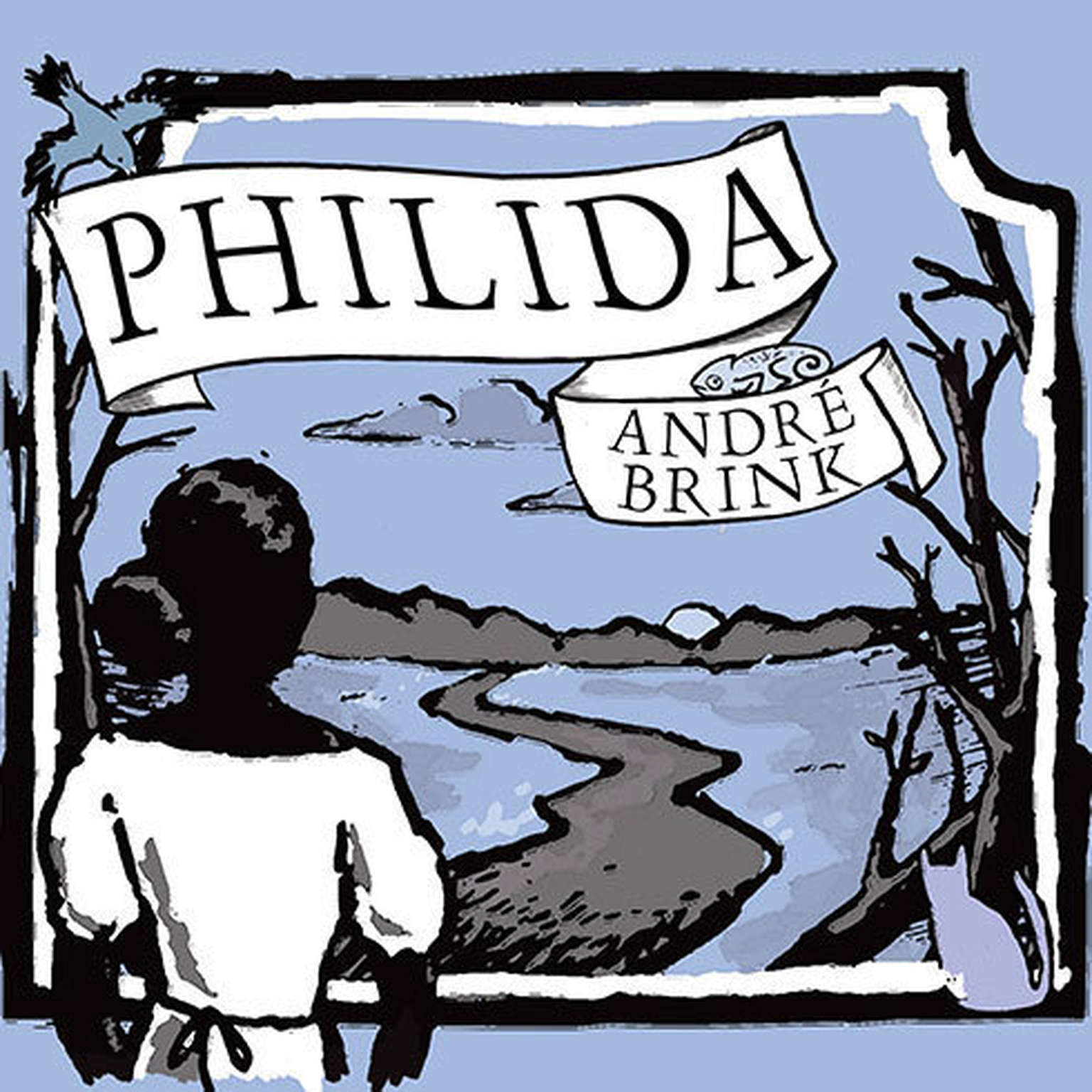 Printable Philida Audiobook Cover Art