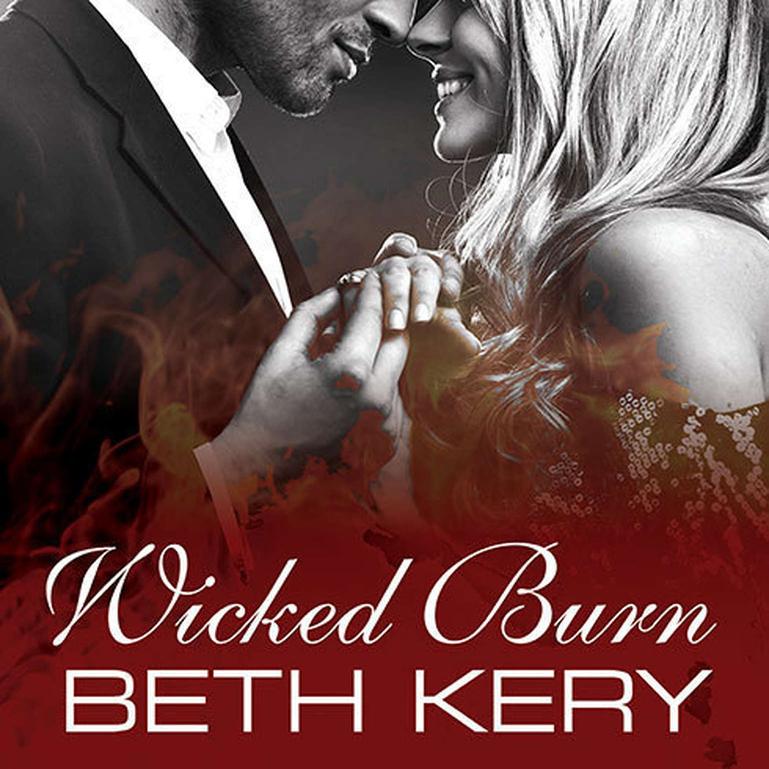 Printable Wicked Burn Audiobook Cover Art