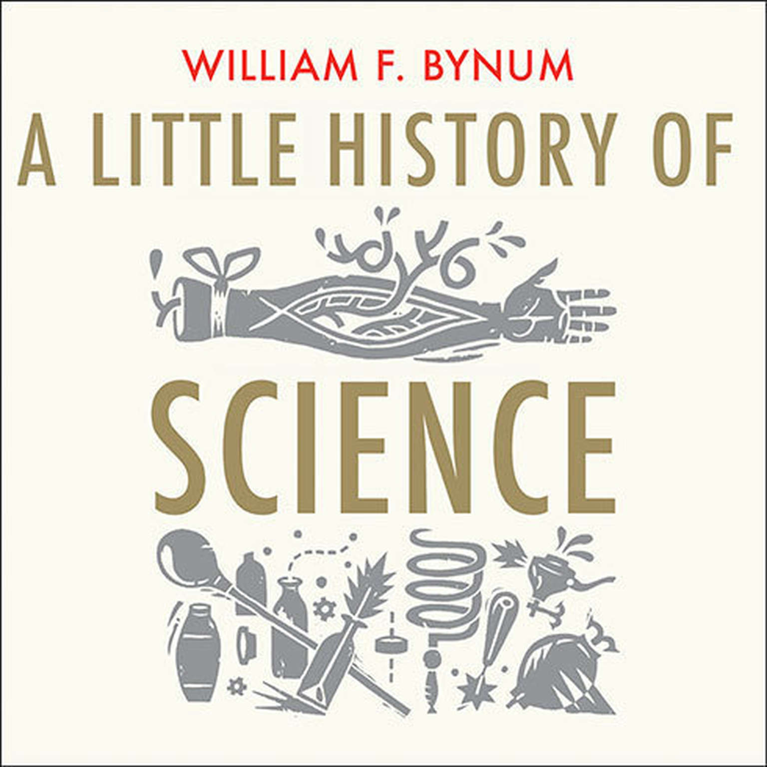 Printable A Little History of Science Audiobook Cover Art