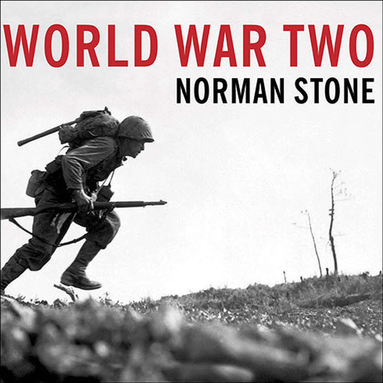 Printable World War Two: A Short History Audiobook Cover Art