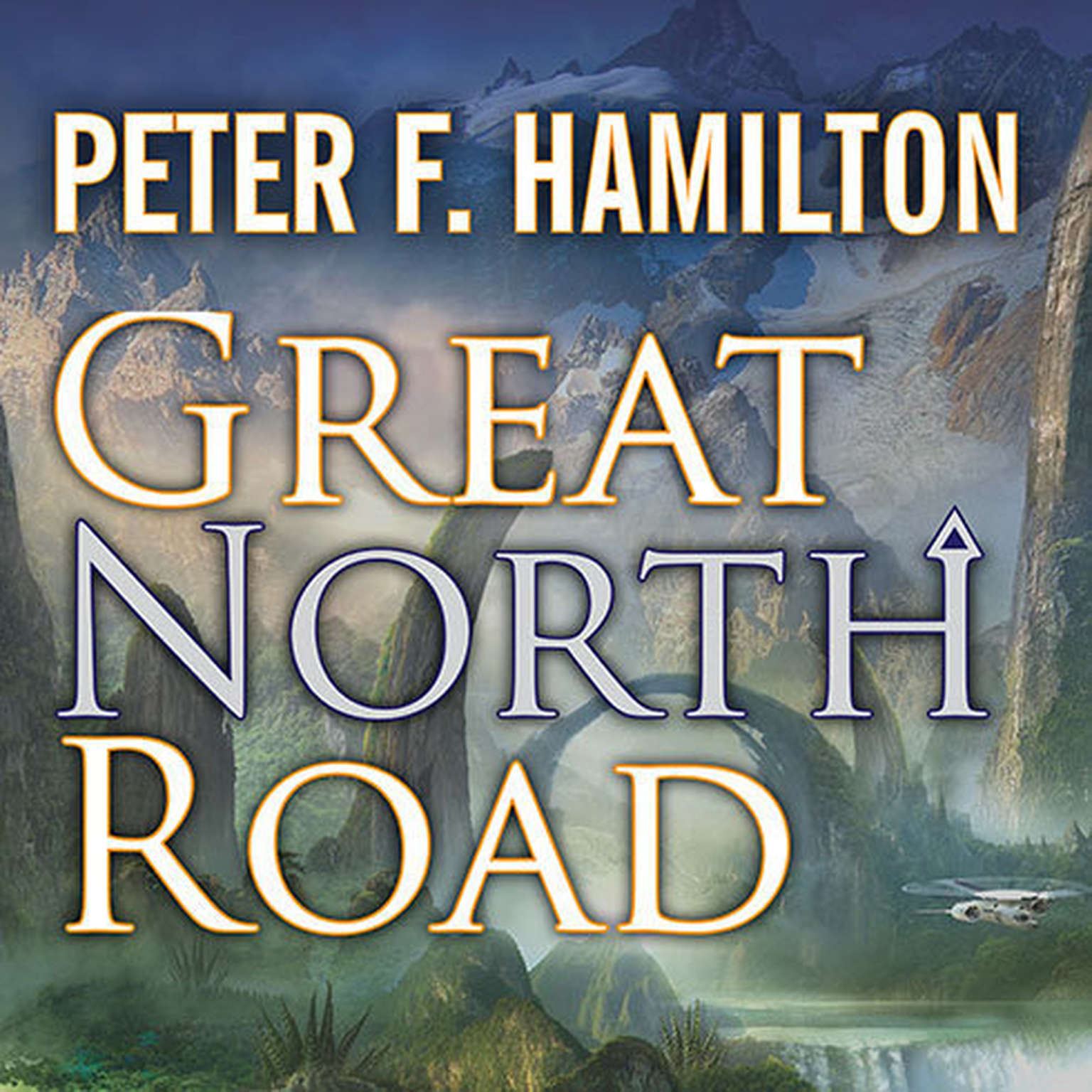 Printable Great North Road Audiobook Cover Art