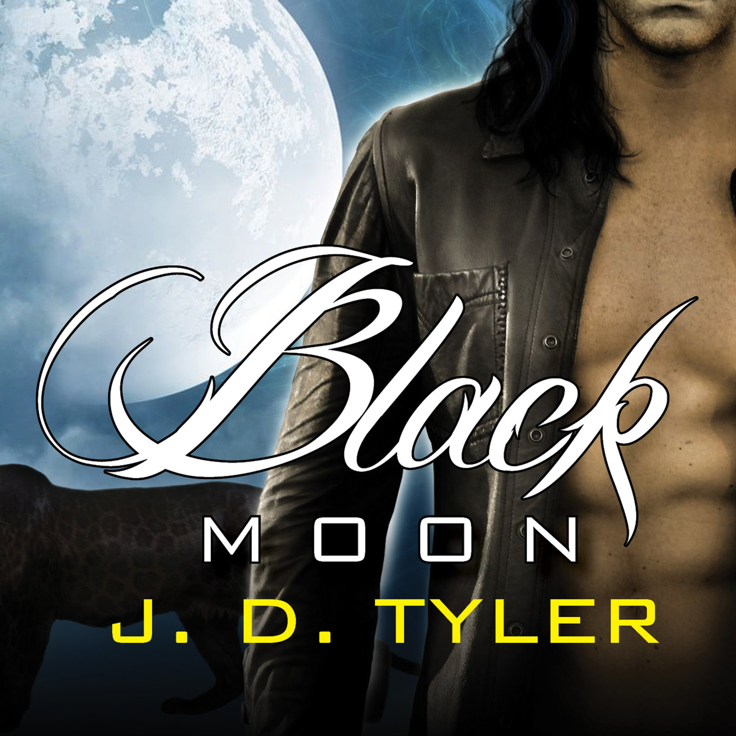 Printable Black Moon: An Alpha Pack Novel Audiobook Cover Art