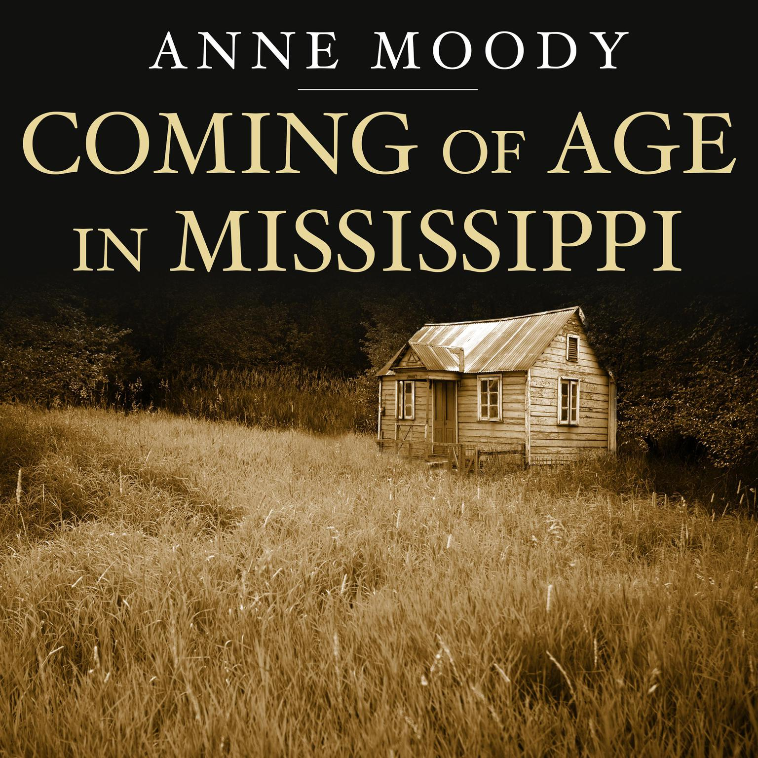 Printable Coming of Age in Mississippi Audiobook Cover Art