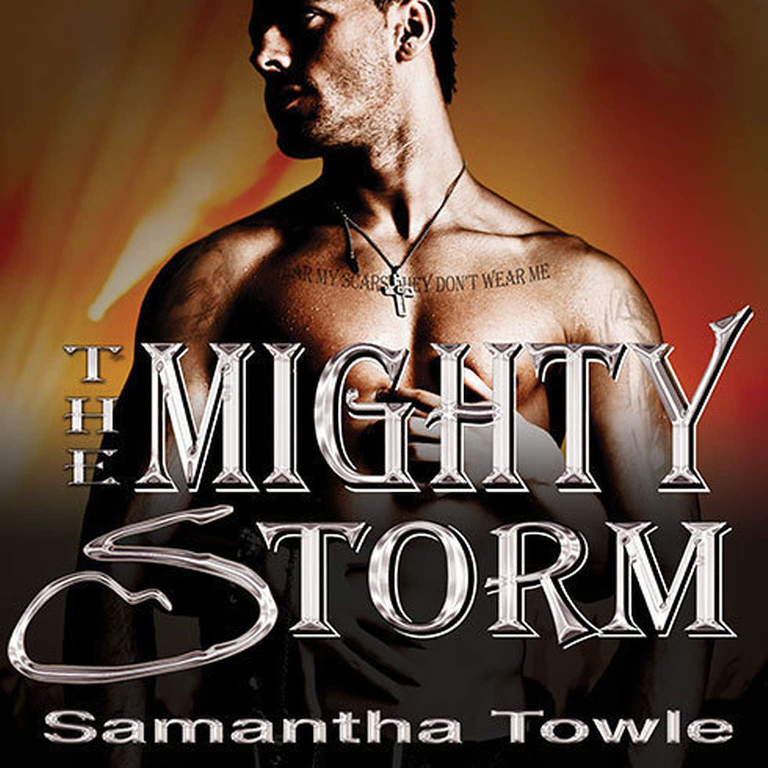 Printable The Mighty Storm Audiobook Cover Art