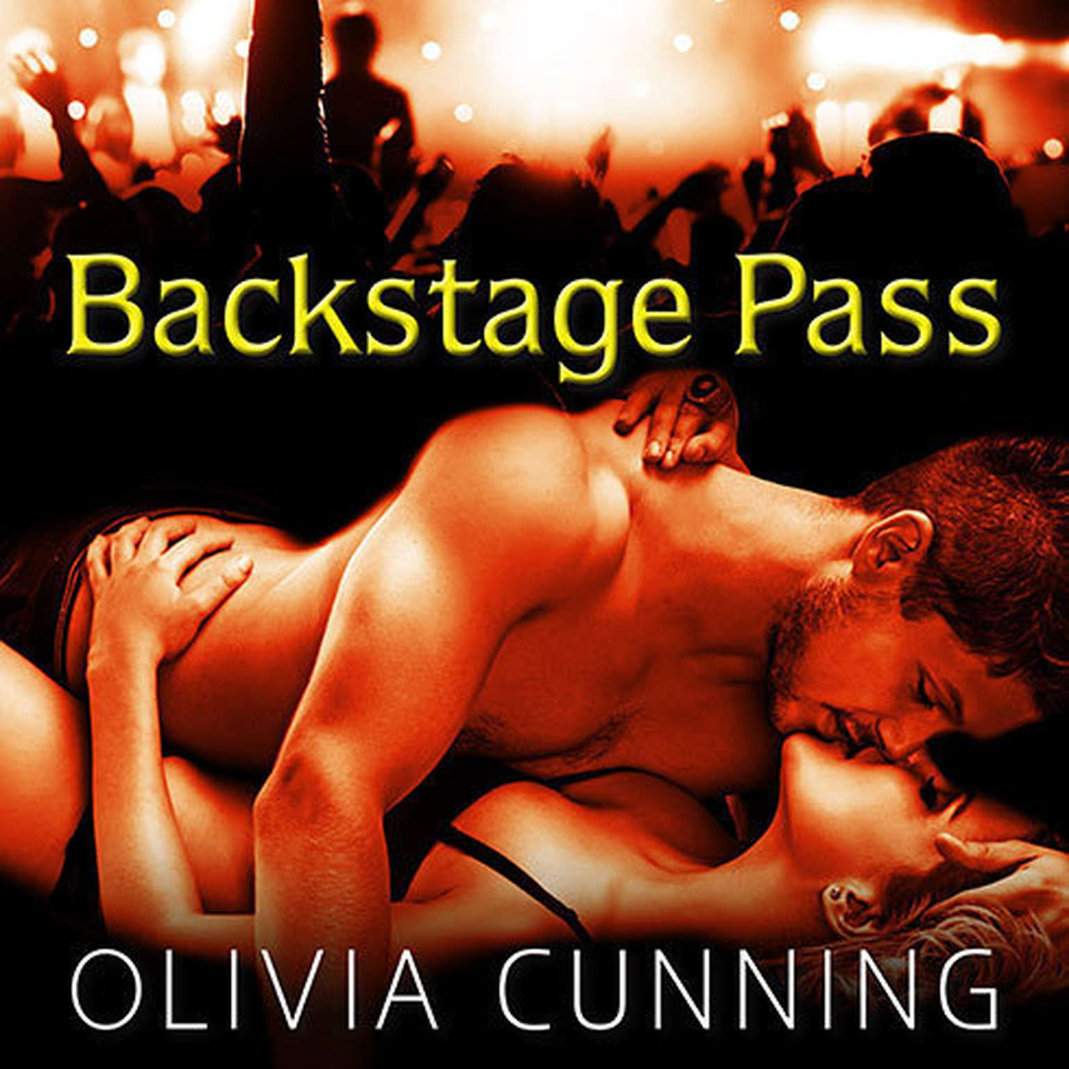 Printable Backstage Pass Audiobook Cover Art