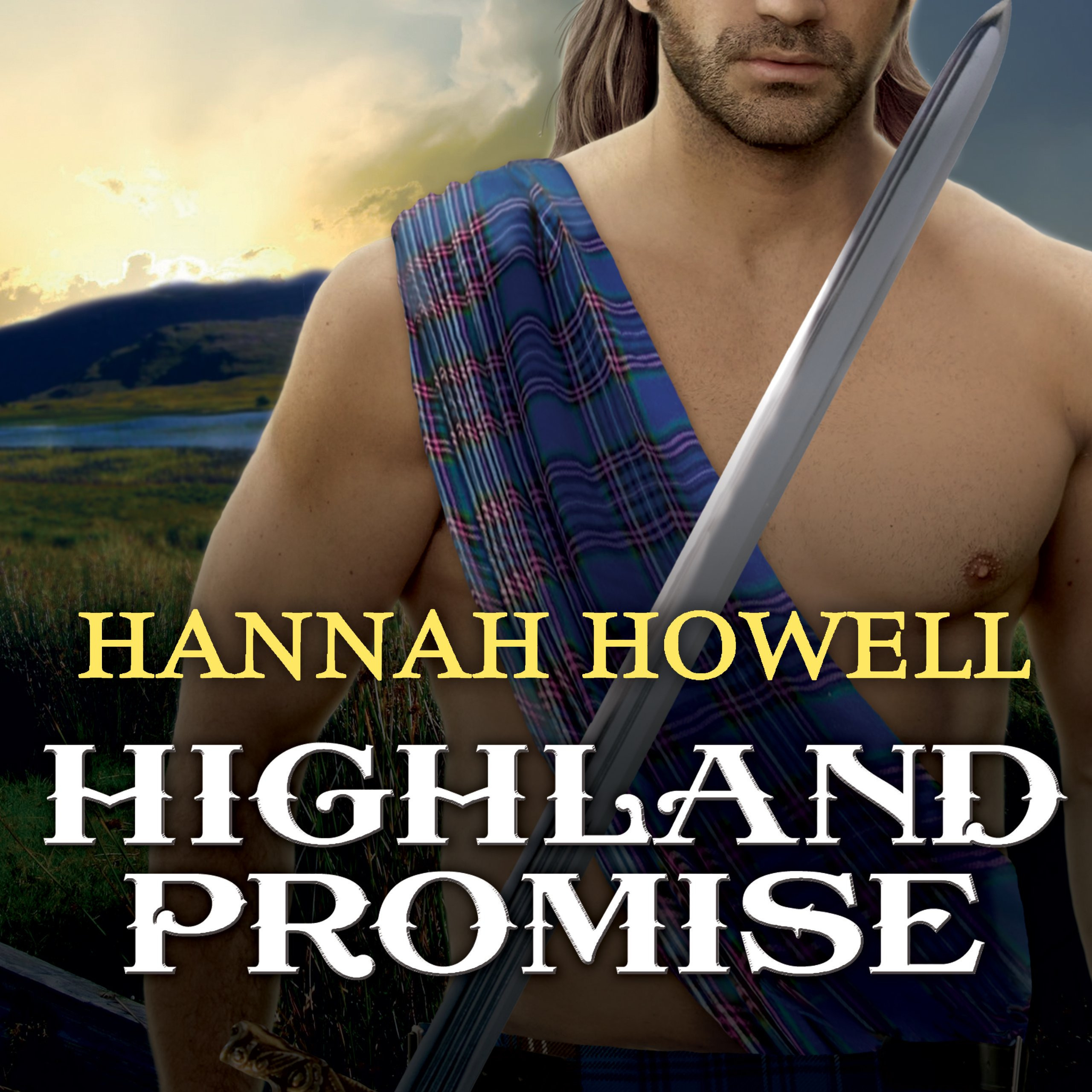 Printable Highland Promise Audiobook Cover Art