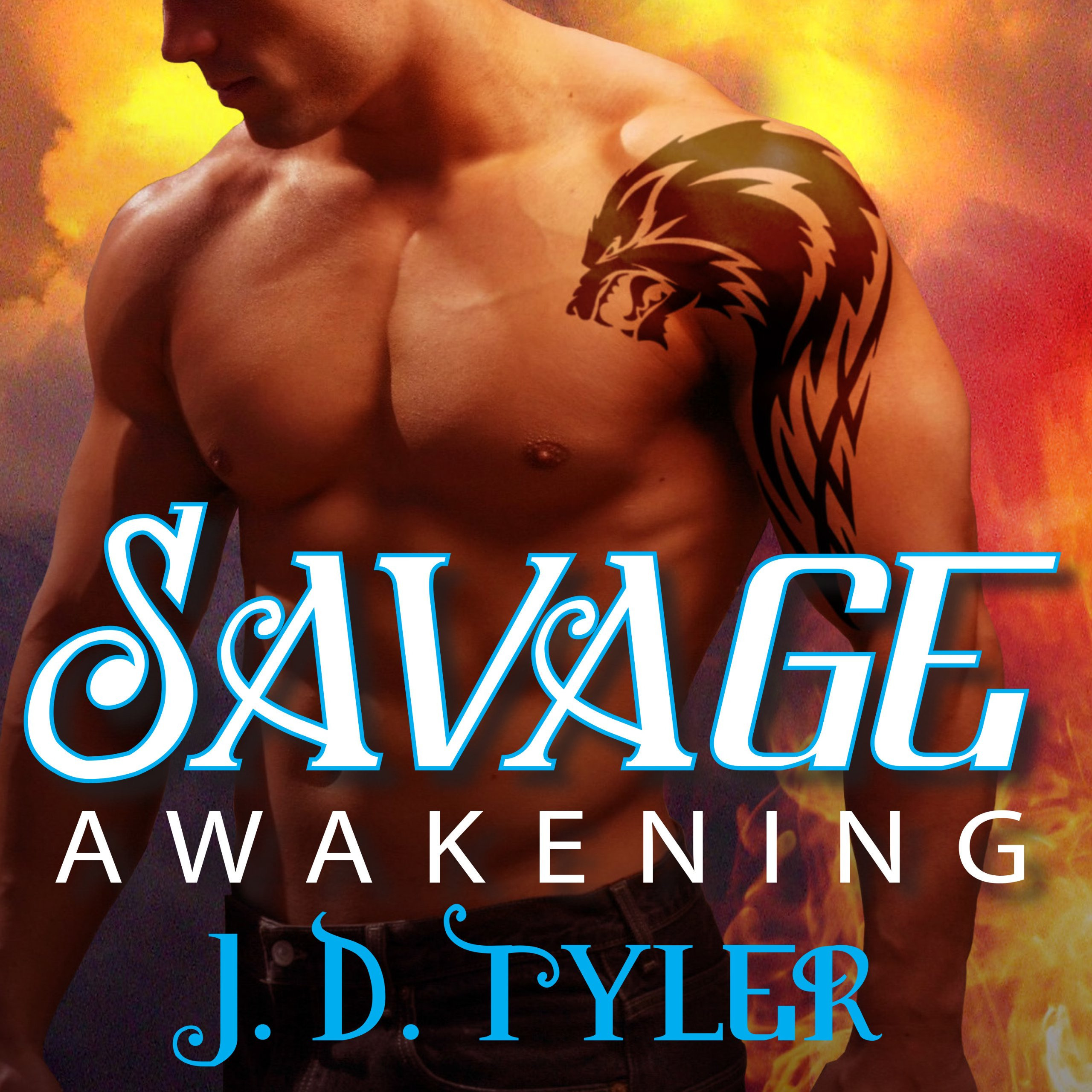 Printable Savage Awakening: An Alpha Pack Novel Audiobook Cover Art