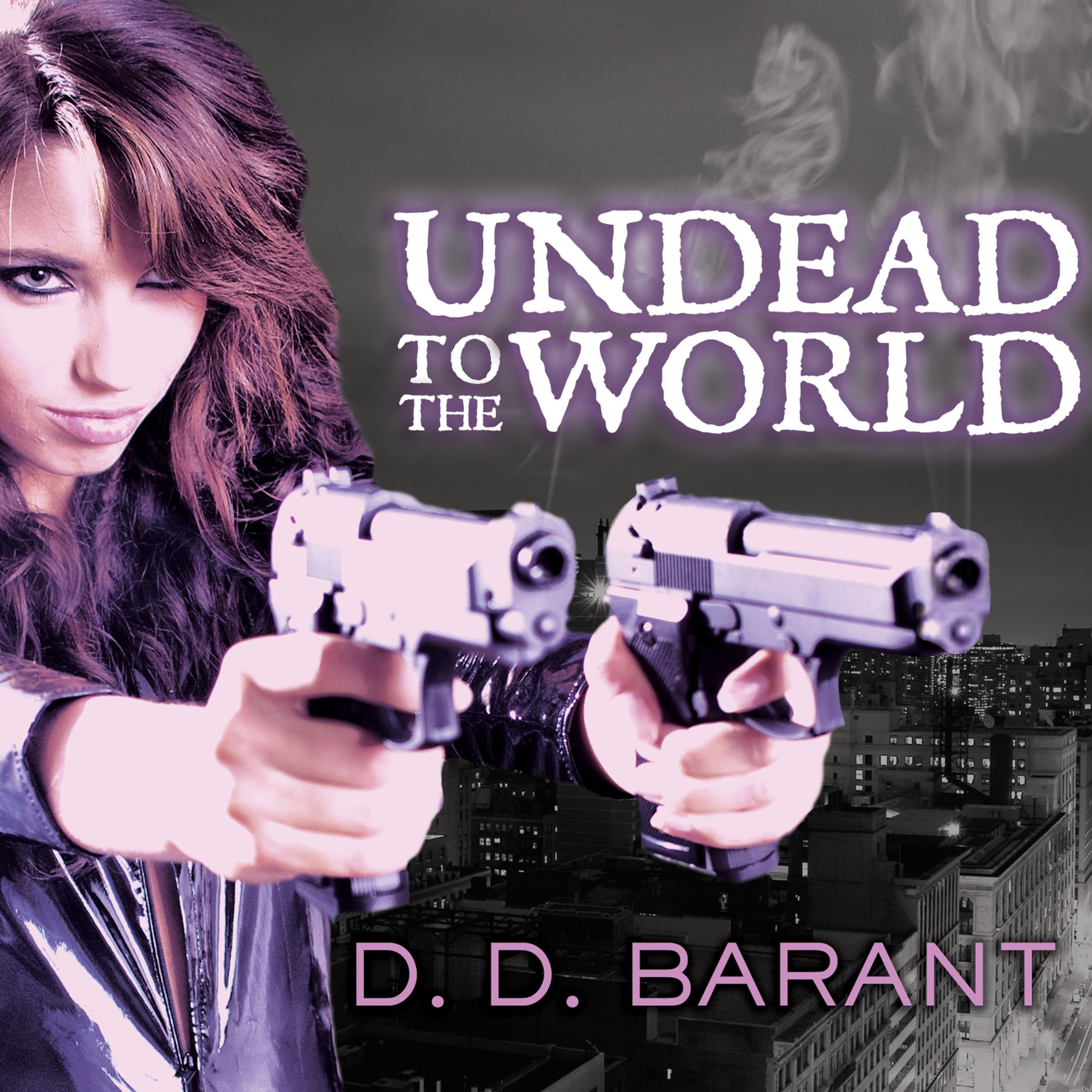 Printable Undead to the World Audiobook Cover Art