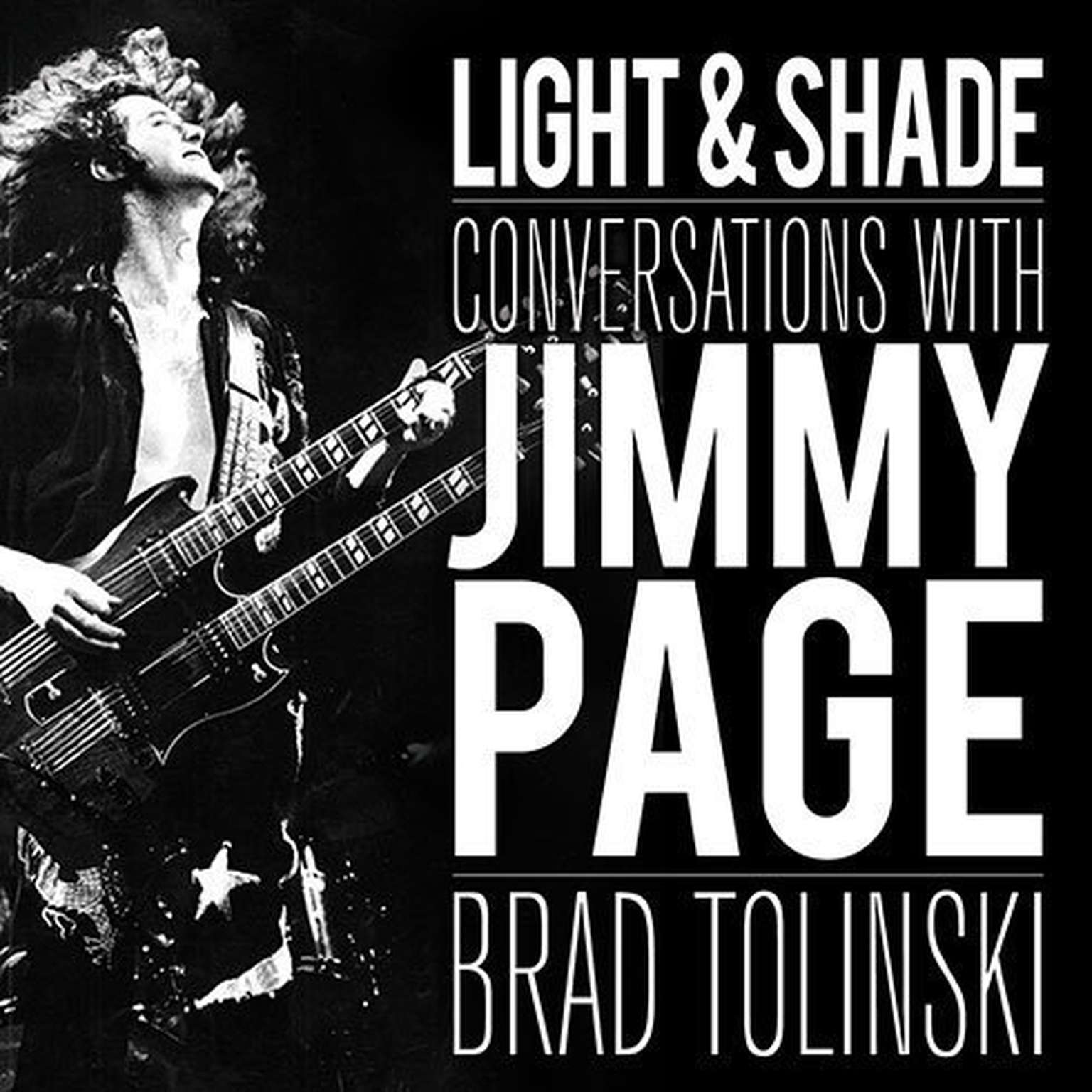 Printable Light and Shade: Conversations With Jimmy Page Audiobook Cover Art