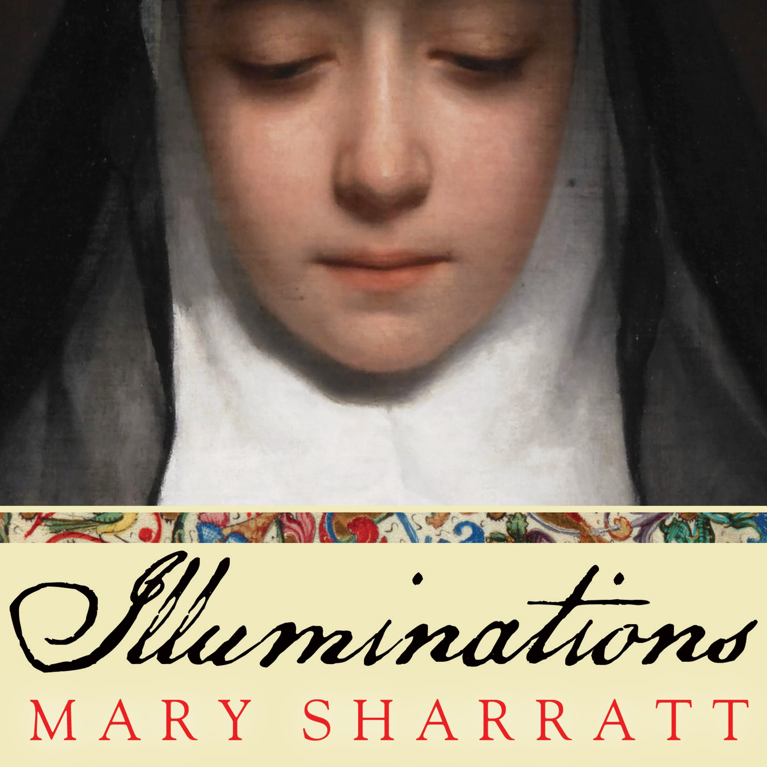 Printable Illuminations: A Novel of Hildegard von Bingen Audiobook Cover Art