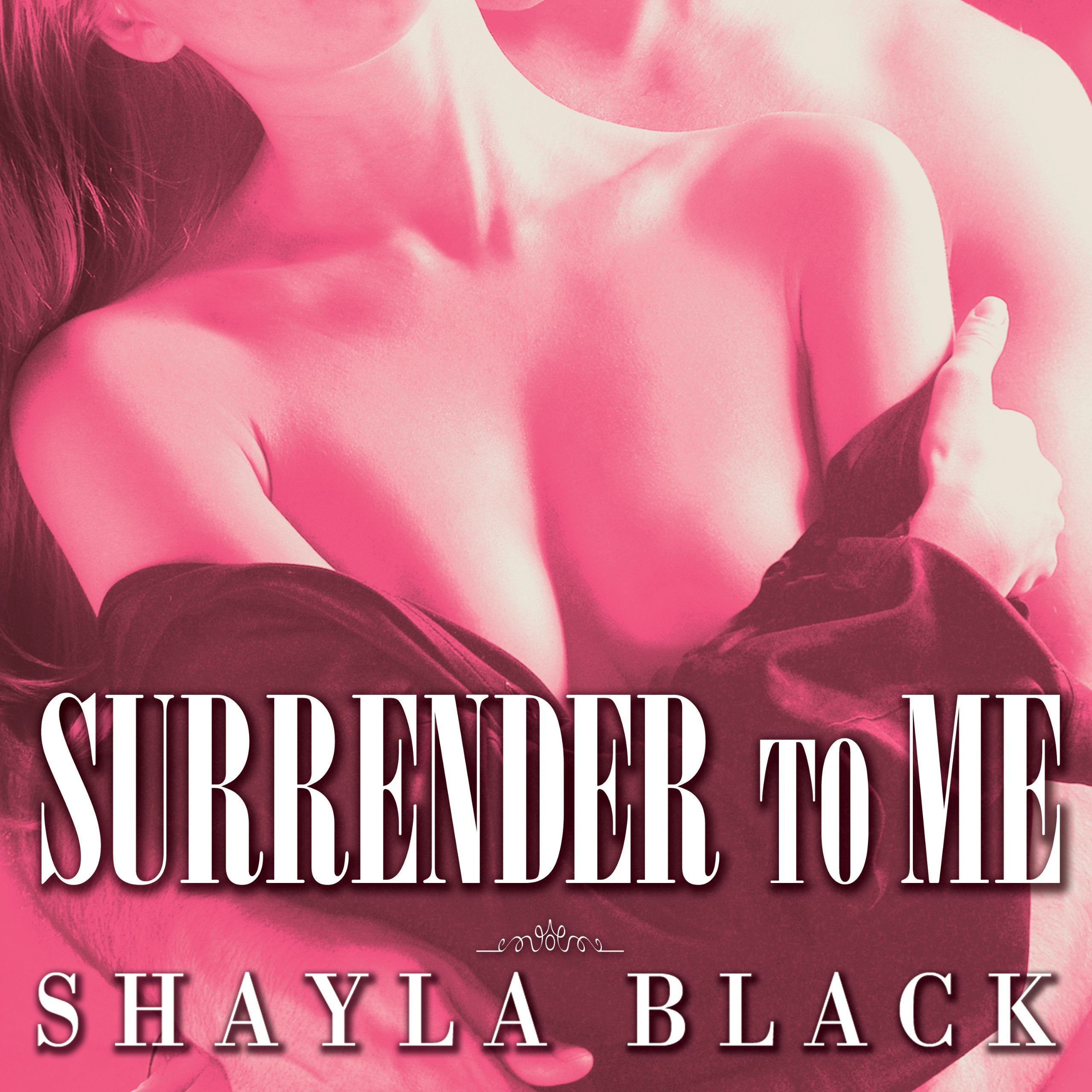 Printable Surrender to Me Audiobook Cover Art