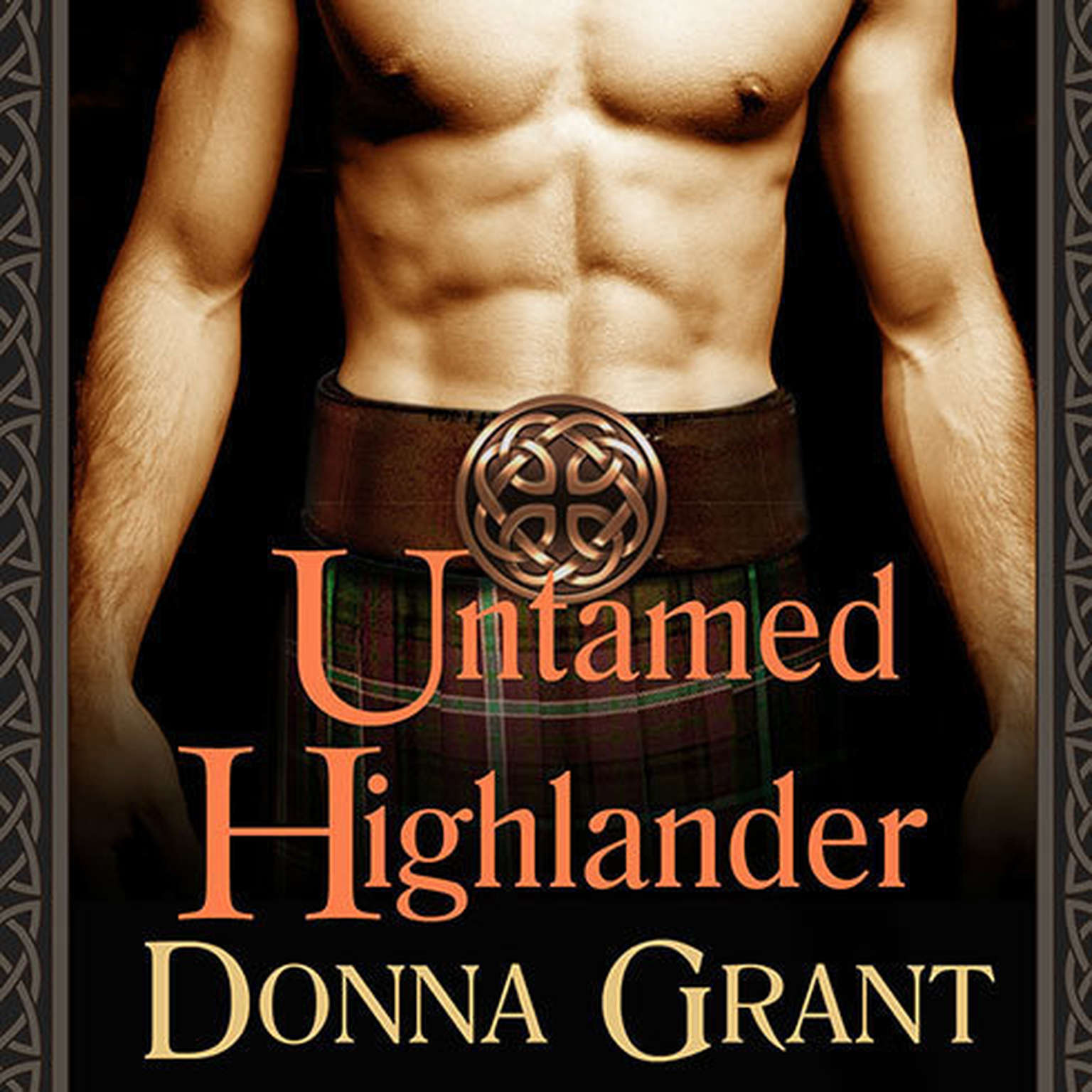 Printable Untamed Highlander Audiobook Cover Art