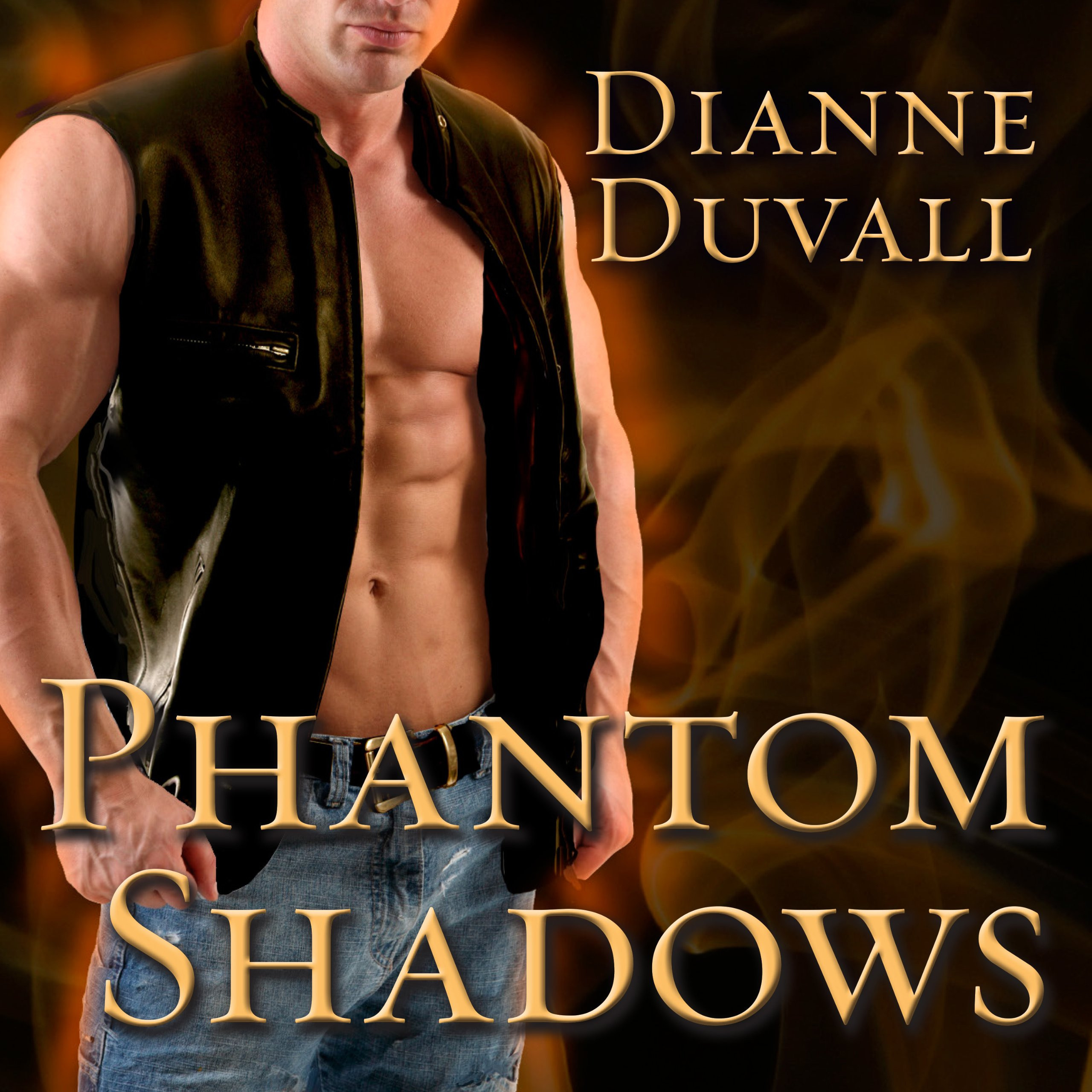 Printable Phantom Shadows Audiobook Cover Art