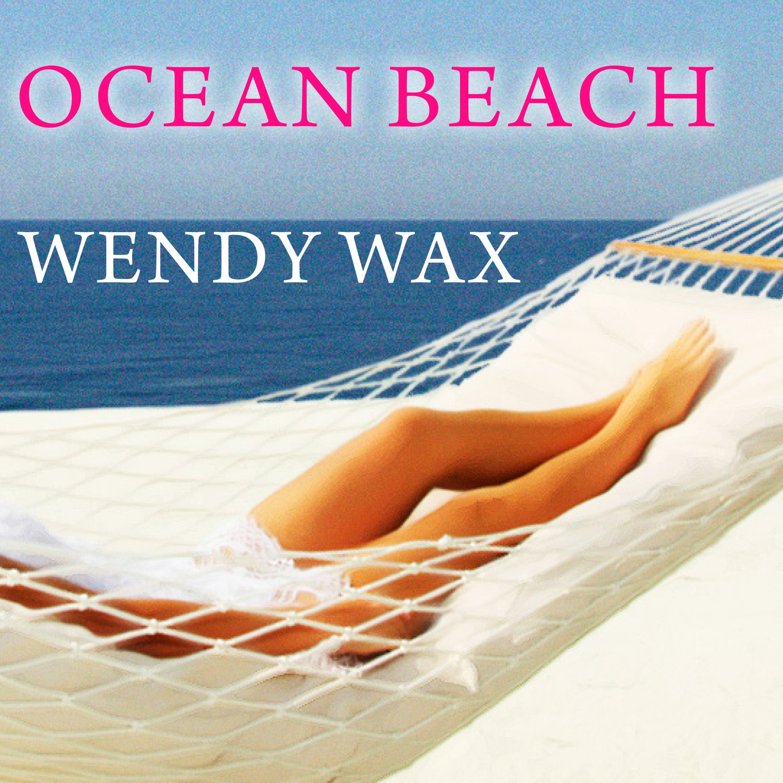 Printable Ocean Beach Audiobook Cover Art