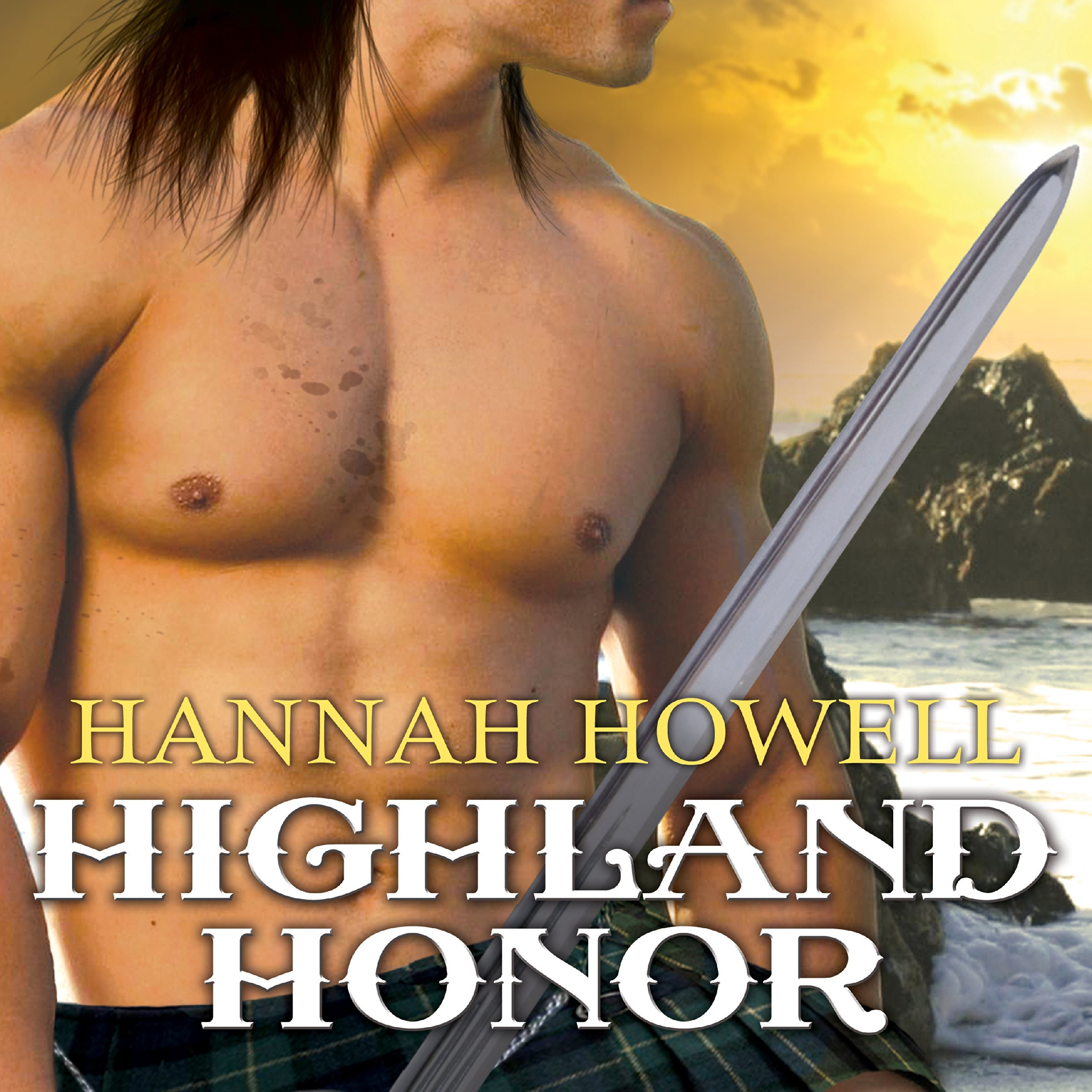 Printable Highland Honor Audiobook Cover Art