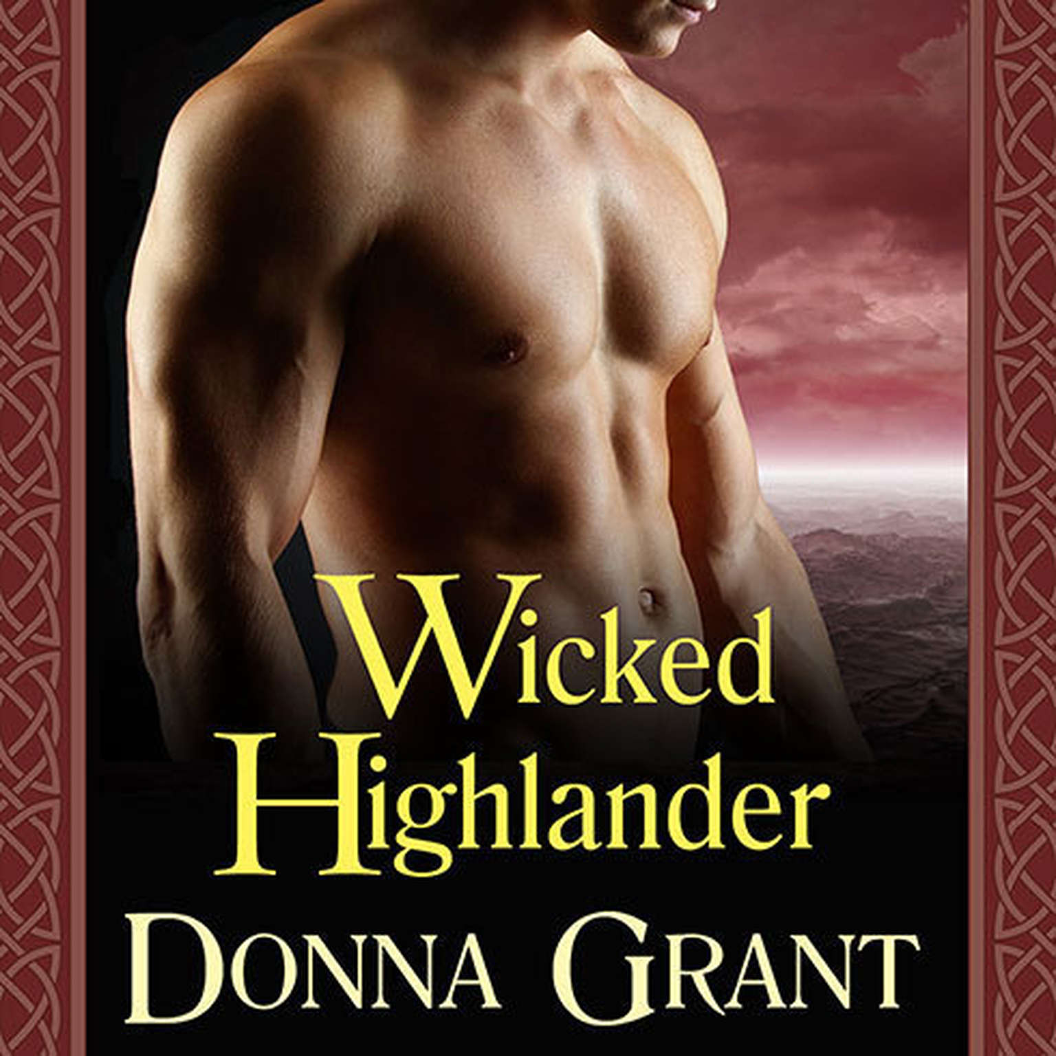 Printable Wicked Highlander Audiobook Cover Art