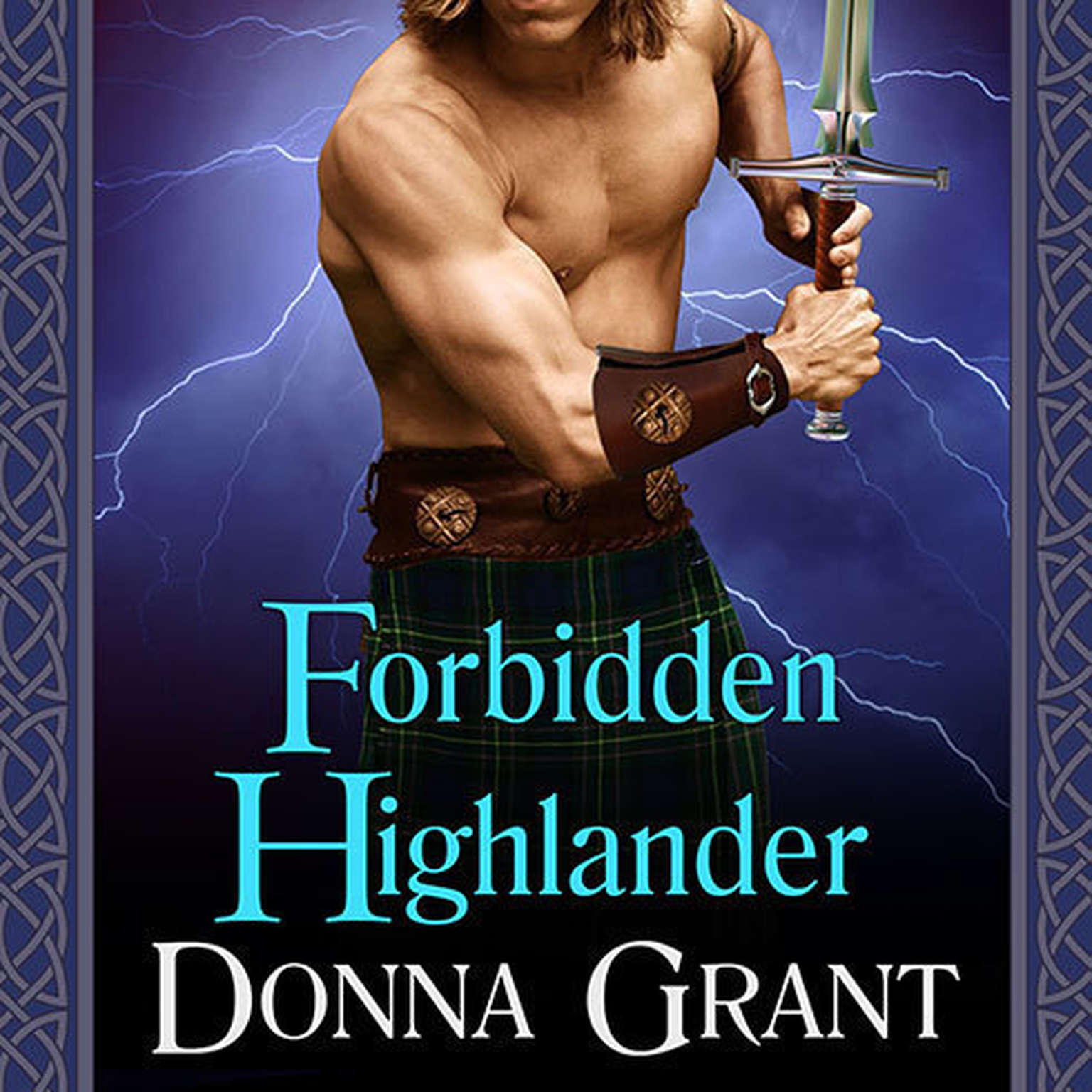 Printable Forbidden Highlander Audiobook Cover Art