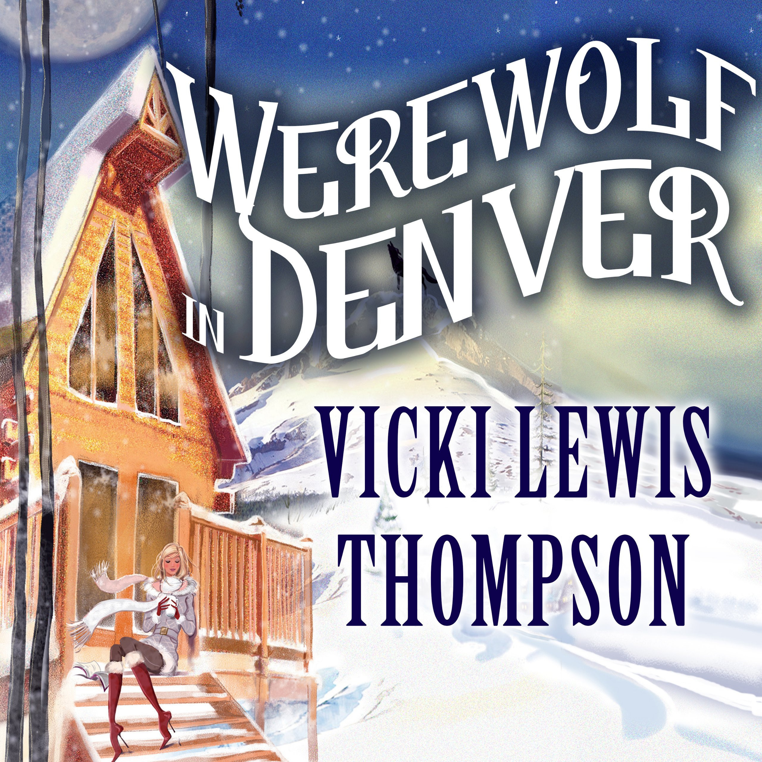 Printable Werewolf in Denver Audiobook Cover Art