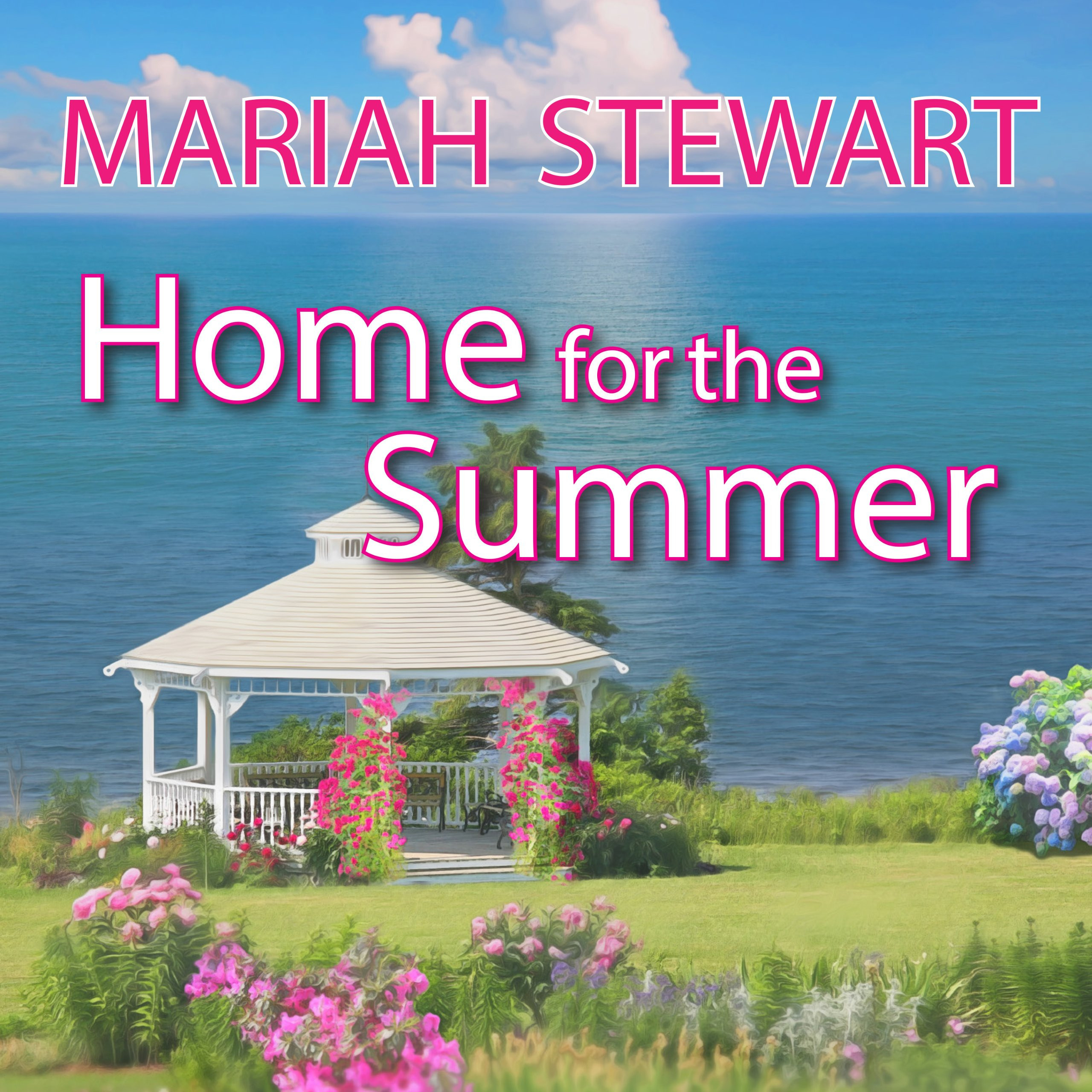Printable Home for the Summer Audiobook Cover Art