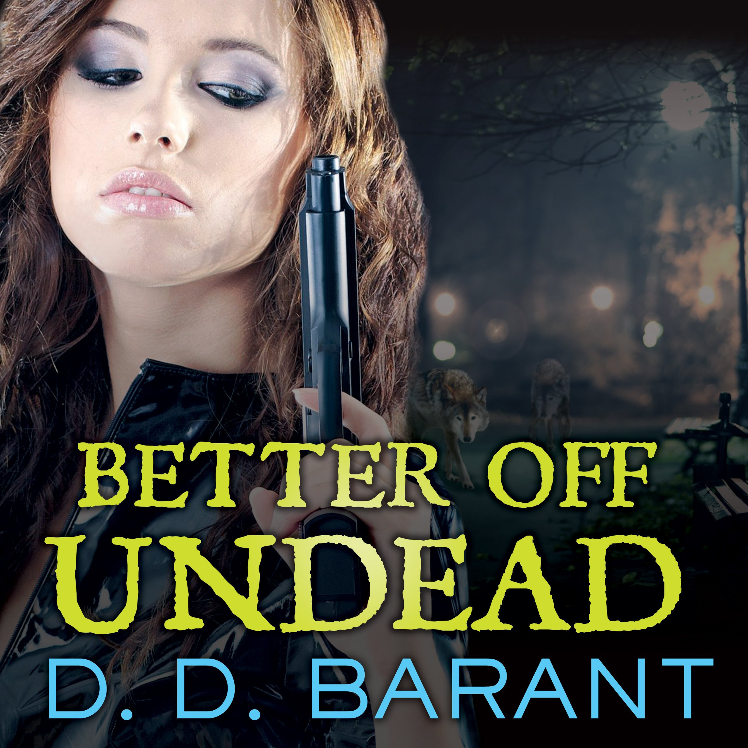 Printable Better off Undead Audiobook Cover Art