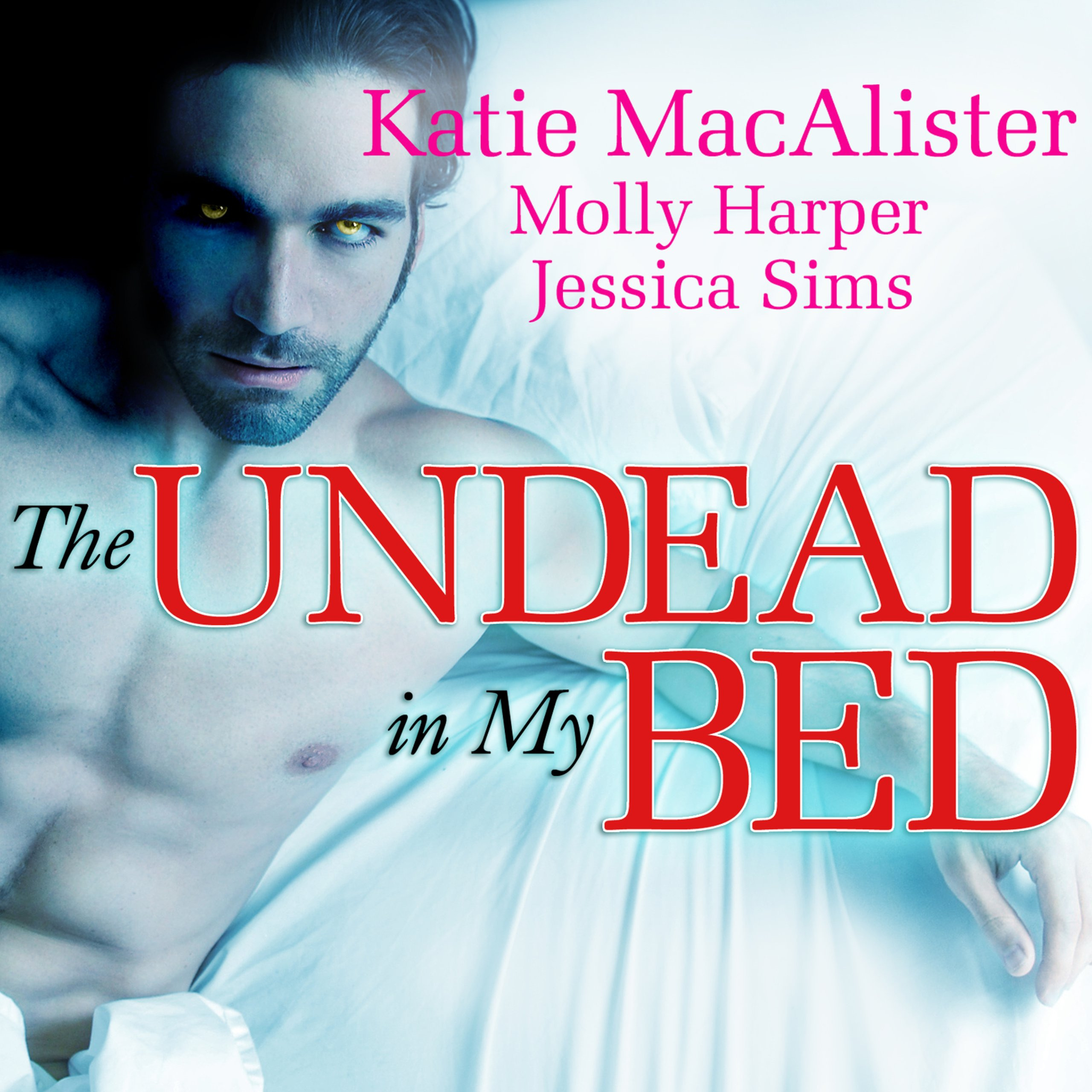 Printable The Undead in My Bed Audiobook Cover Art