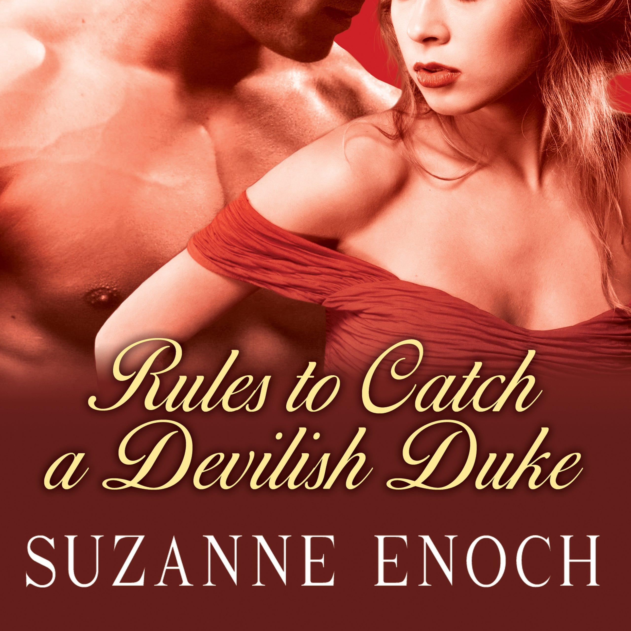 Printable Rules to Catch a Devilish Duke Audiobook Cover Art