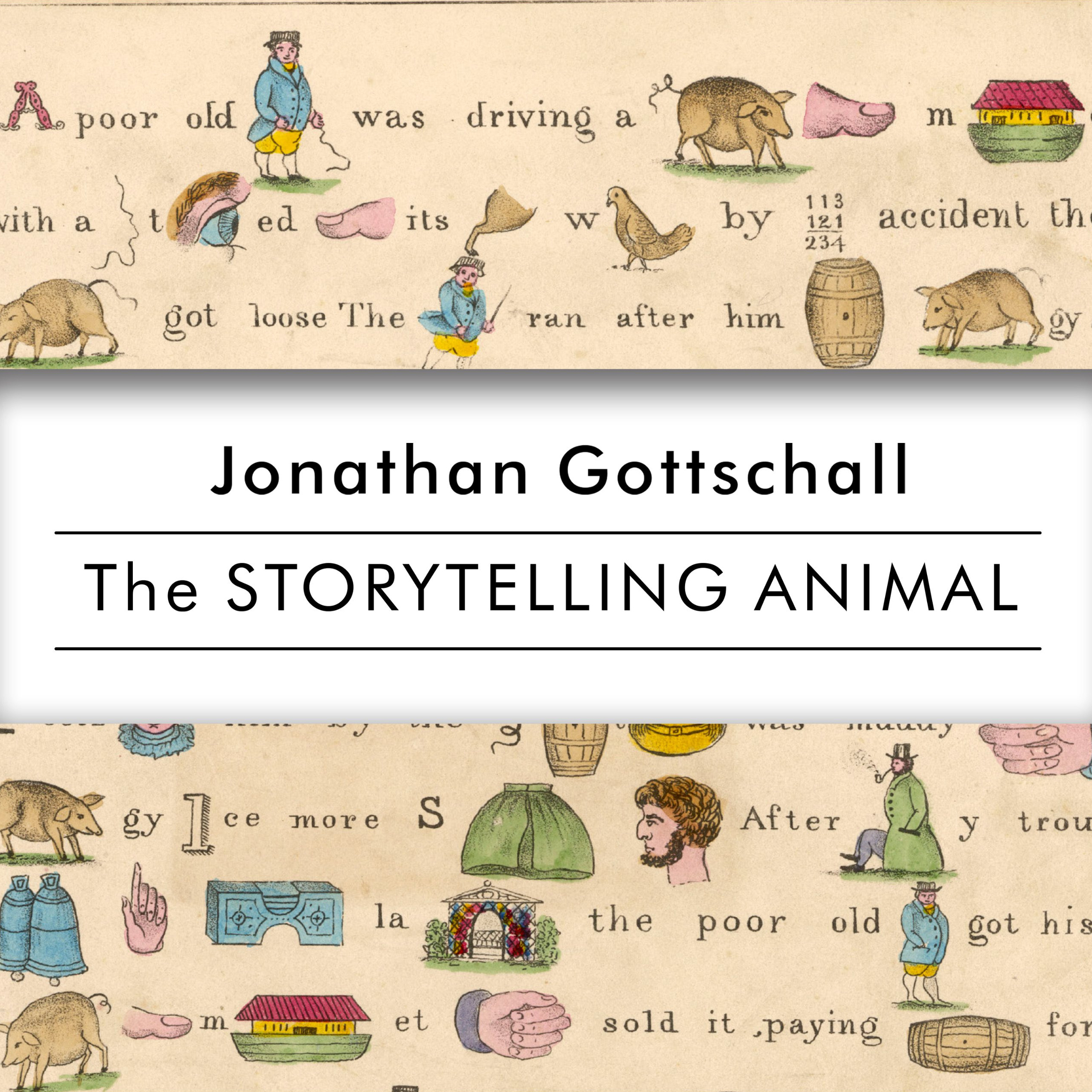 Printable The Storytelling Animal: How Stories Make Us Human Audiobook Cover Art