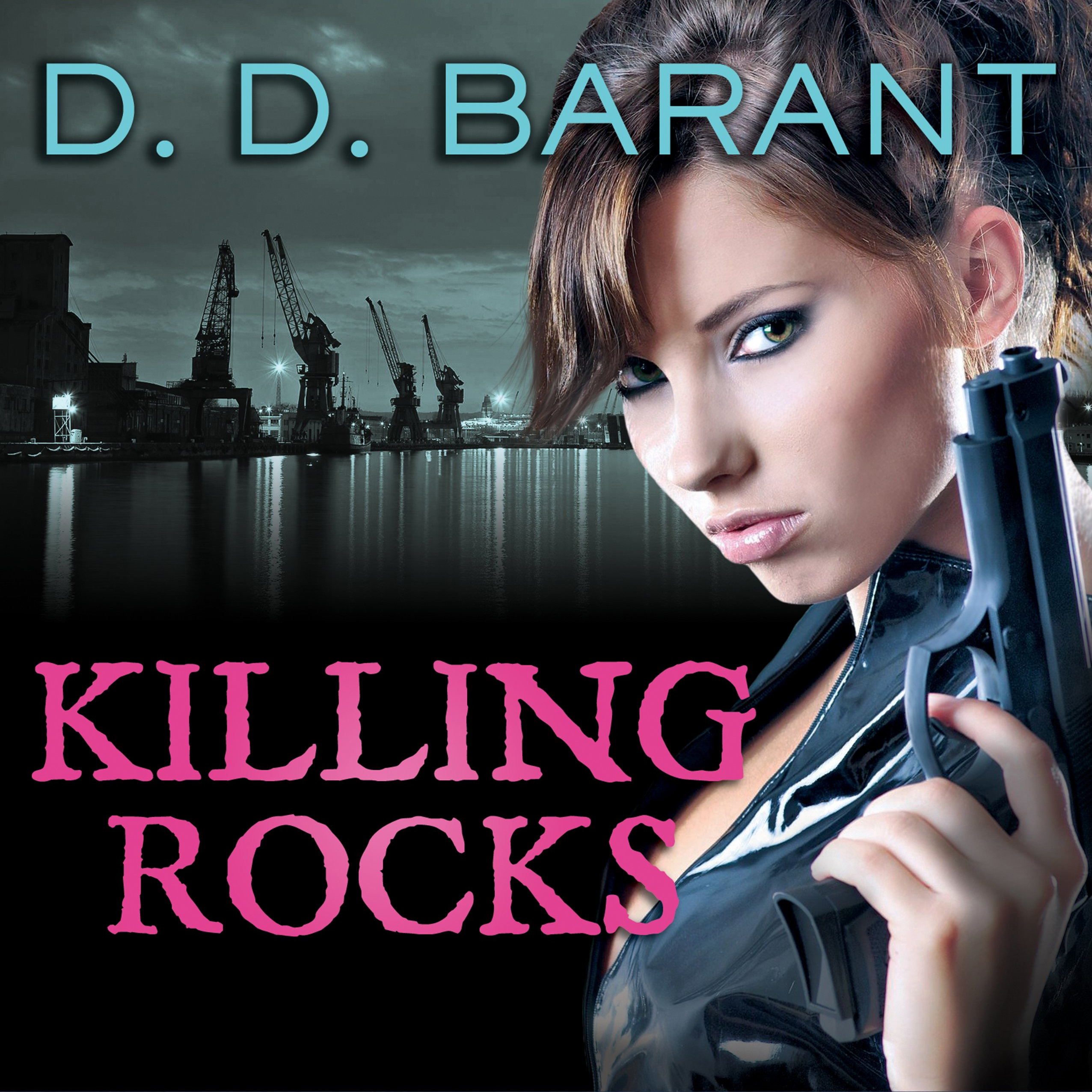 Printable Killing Rocks: Book Three of the Bloodhound Files Audiobook Cover Art