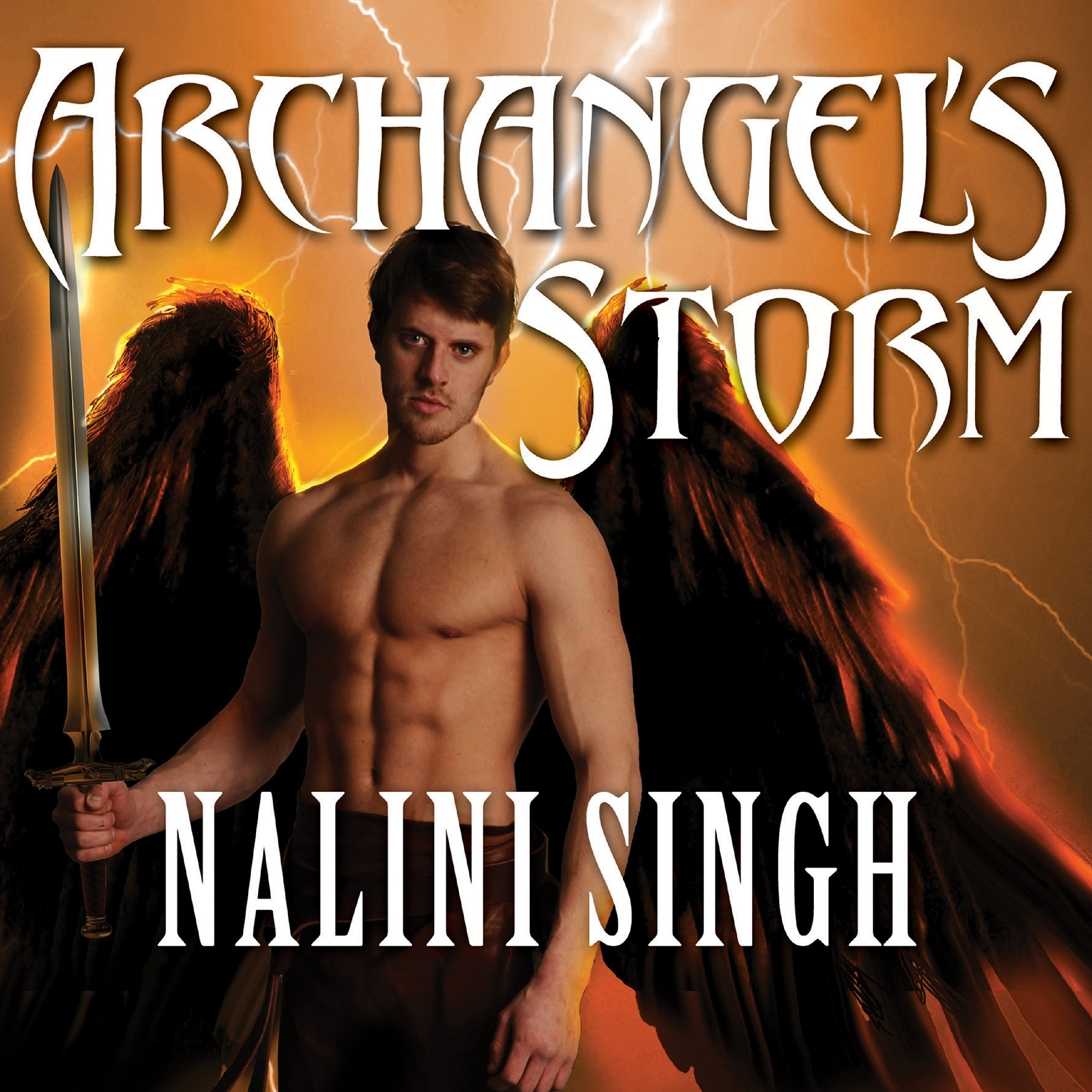 Printable Archangel's Storm Audiobook Cover Art