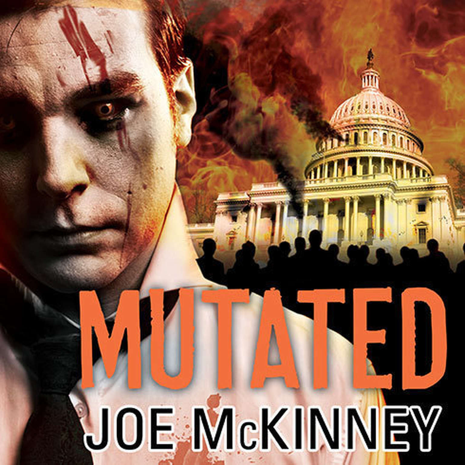 Printable Mutated Audiobook Cover Art