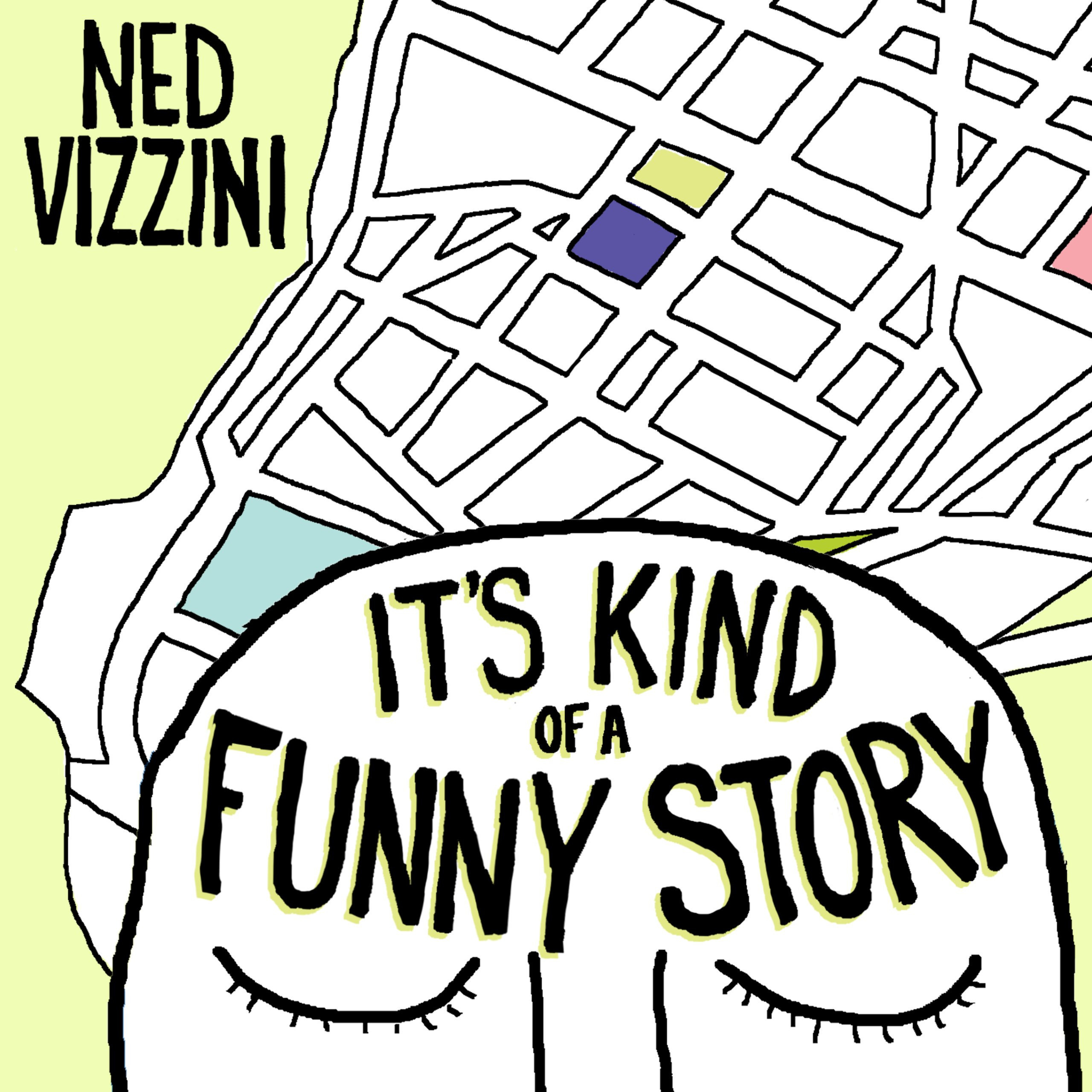 Printable It's Kind of a Funny Story Audiobook Cover Art