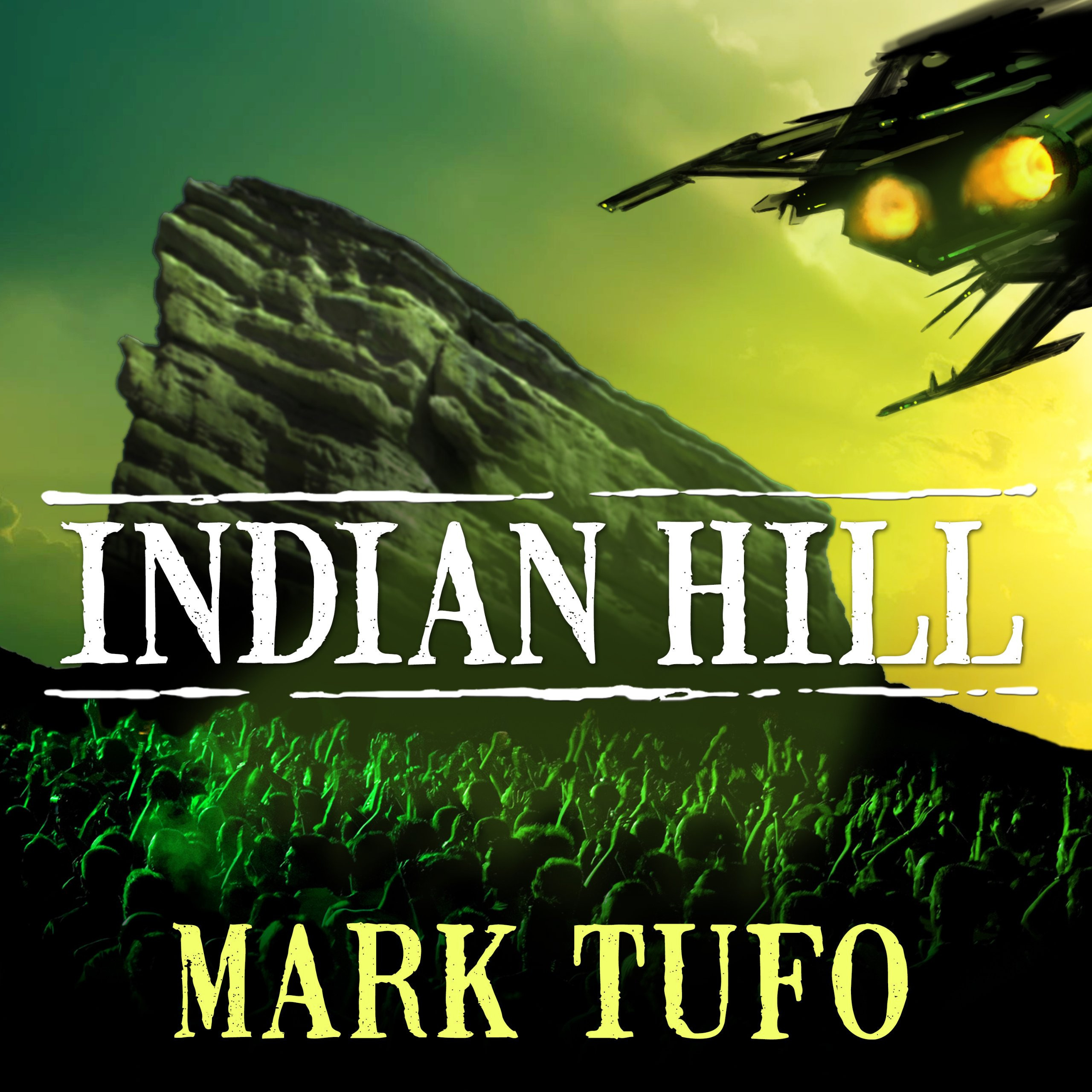 Printable Indian Hill: Encounters Audiobook Cover Art