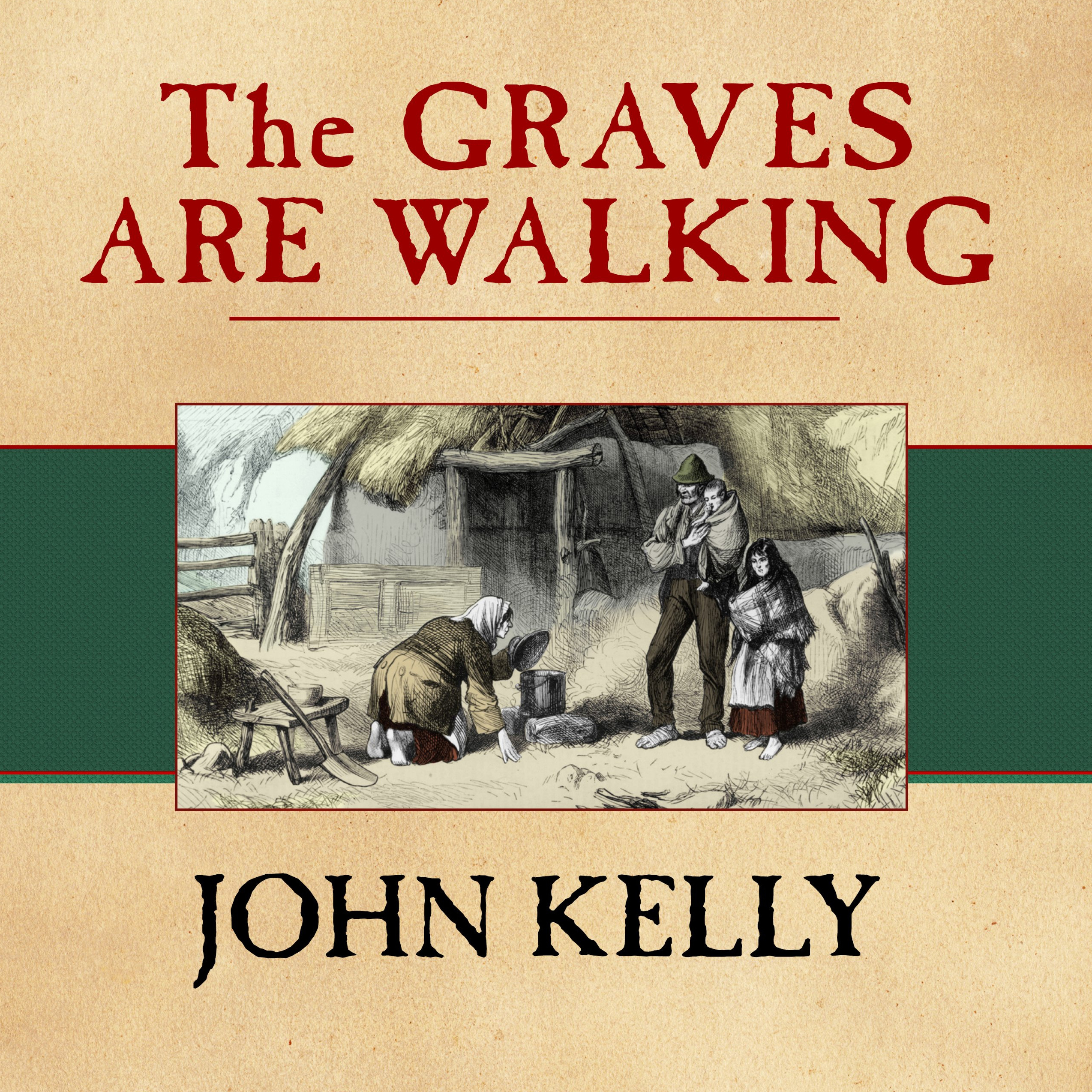 Printable The Graves Are Walking: The Great Famine and the Saga of the Irish People Audiobook Cover Art