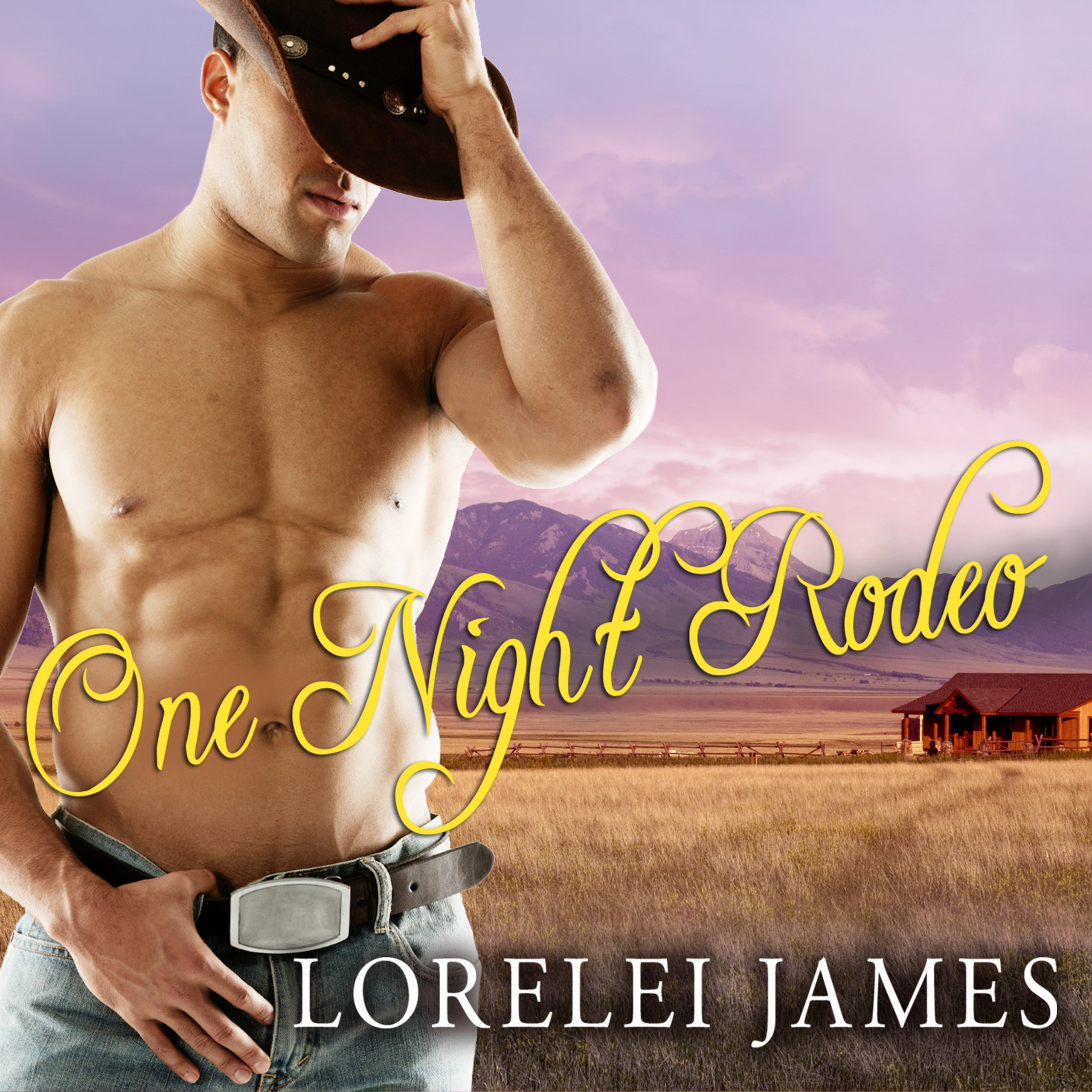 Printable One Night Rodeo: A Blacktop Cowboys Novel Audiobook Cover Art