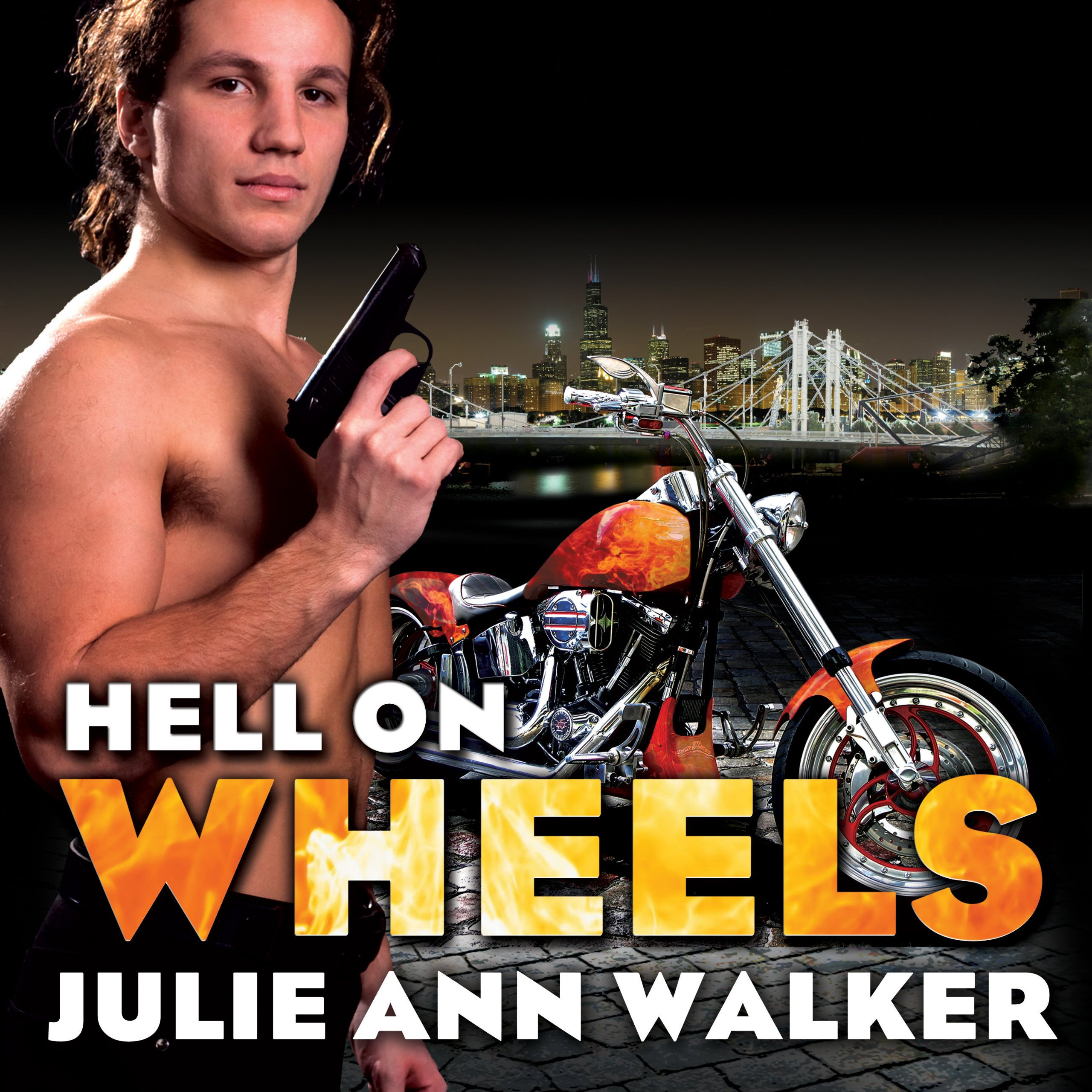 Printable Hell on Wheels Audiobook Cover Art