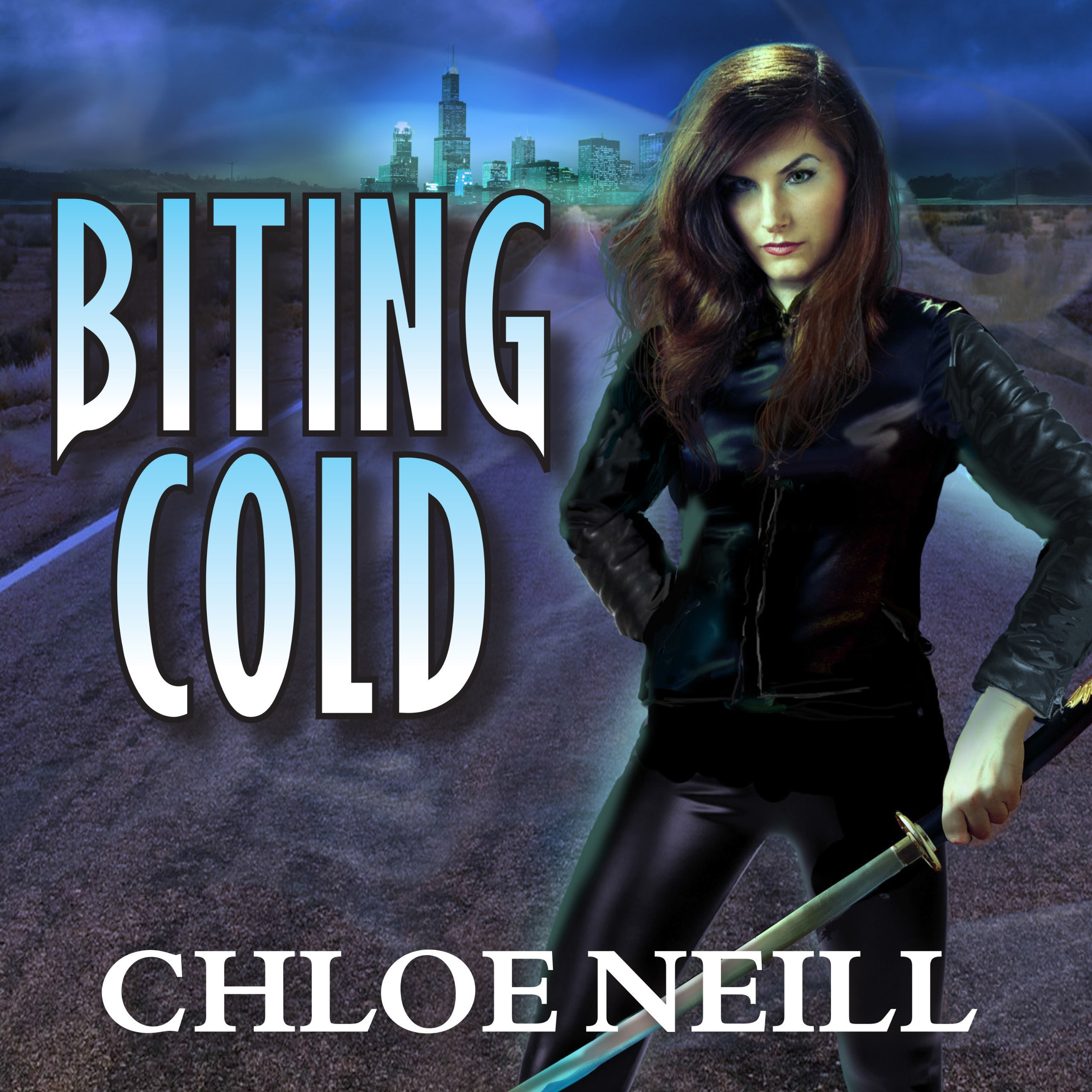 Printable Biting Cold Audiobook Cover Art