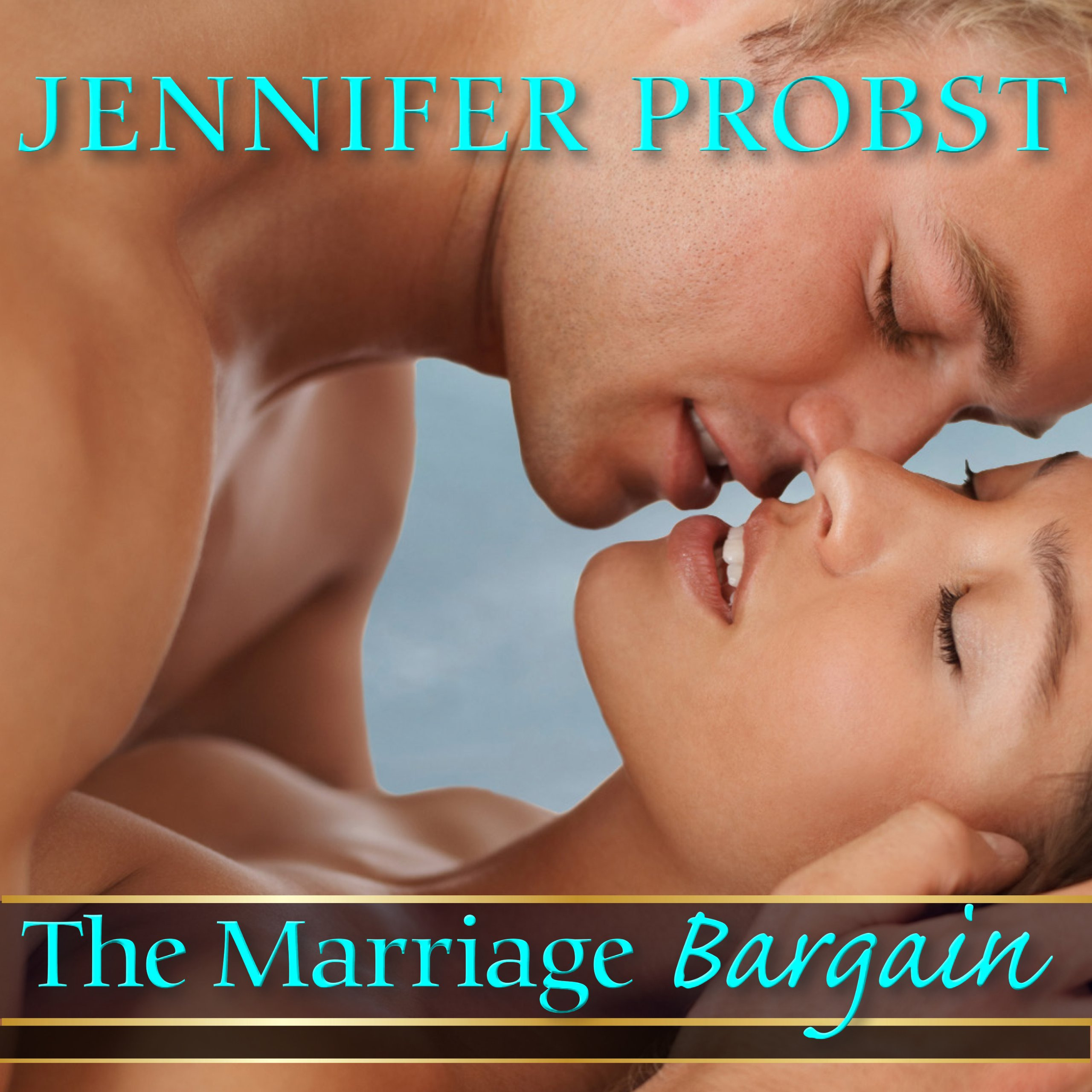 Printable The Marriage Bargain Audiobook Cover Art