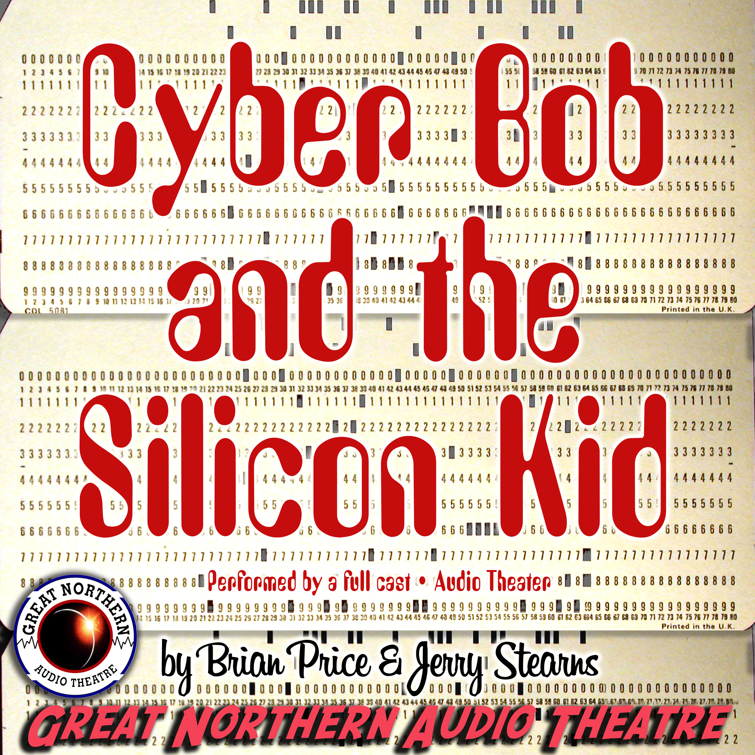Printable Cyber Bob and the Silicon Kid Audiobook Cover Art