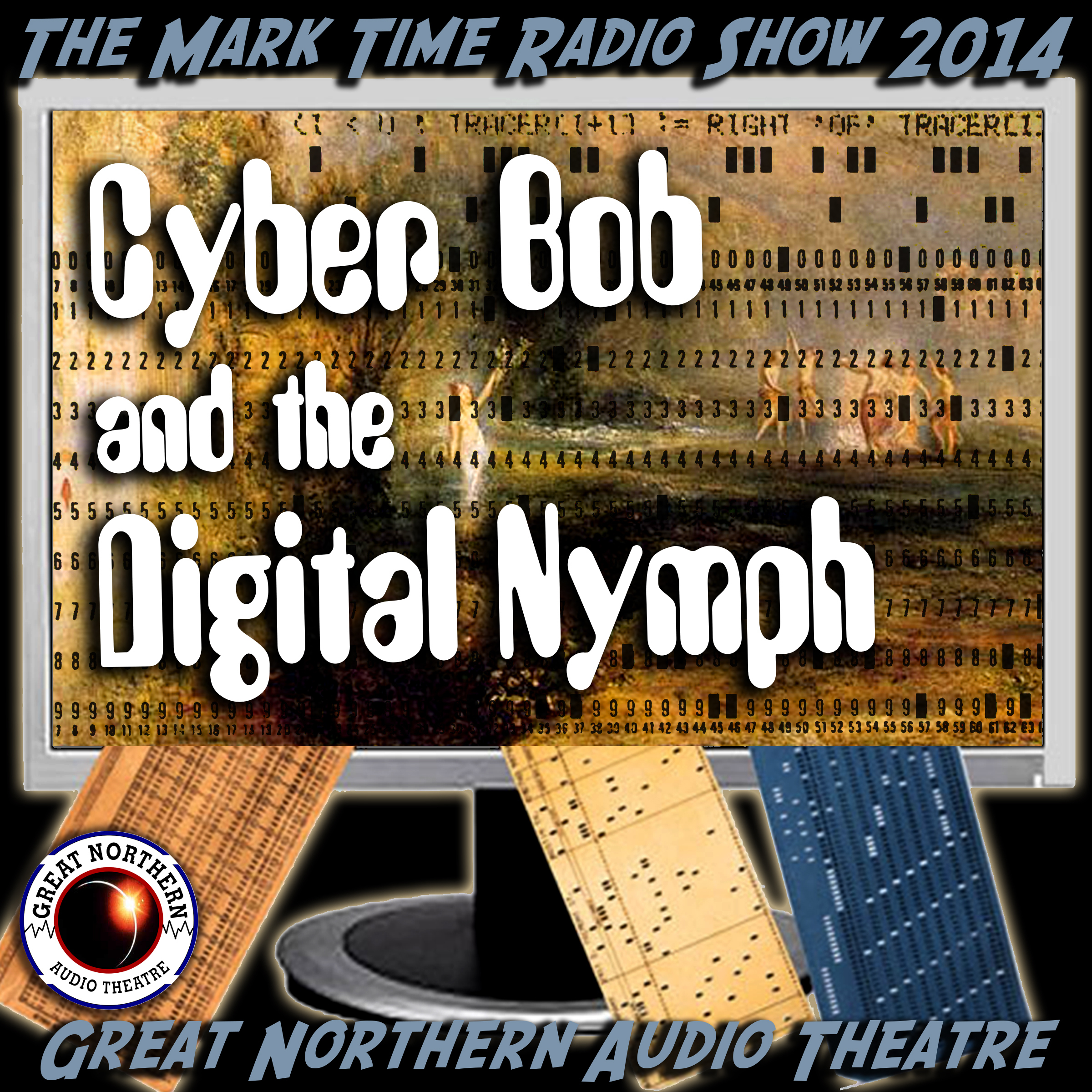 Printable Cyber Bob and the Digital Nymph Audiobook Cover Art
