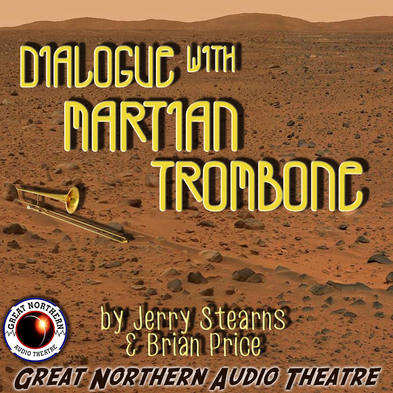 Printable Dialogue with Martian Trombone Audiobook Cover Art