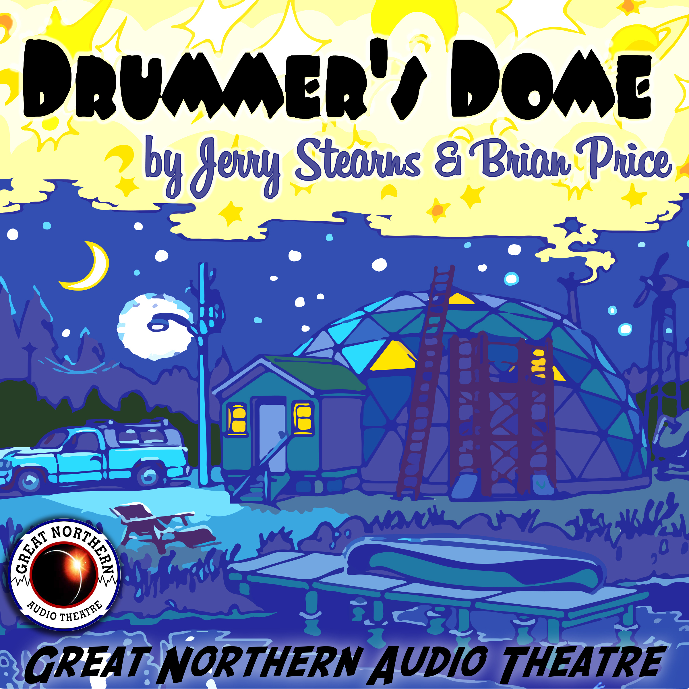 Printable Drummer's  Dome Audiobook Cover Art